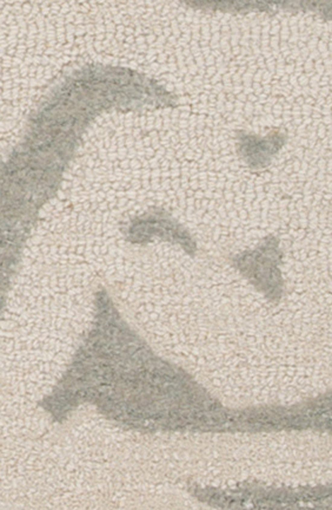 'gramercy - floral' wool & silk rug,                             Alternate thumbnail 6, color,