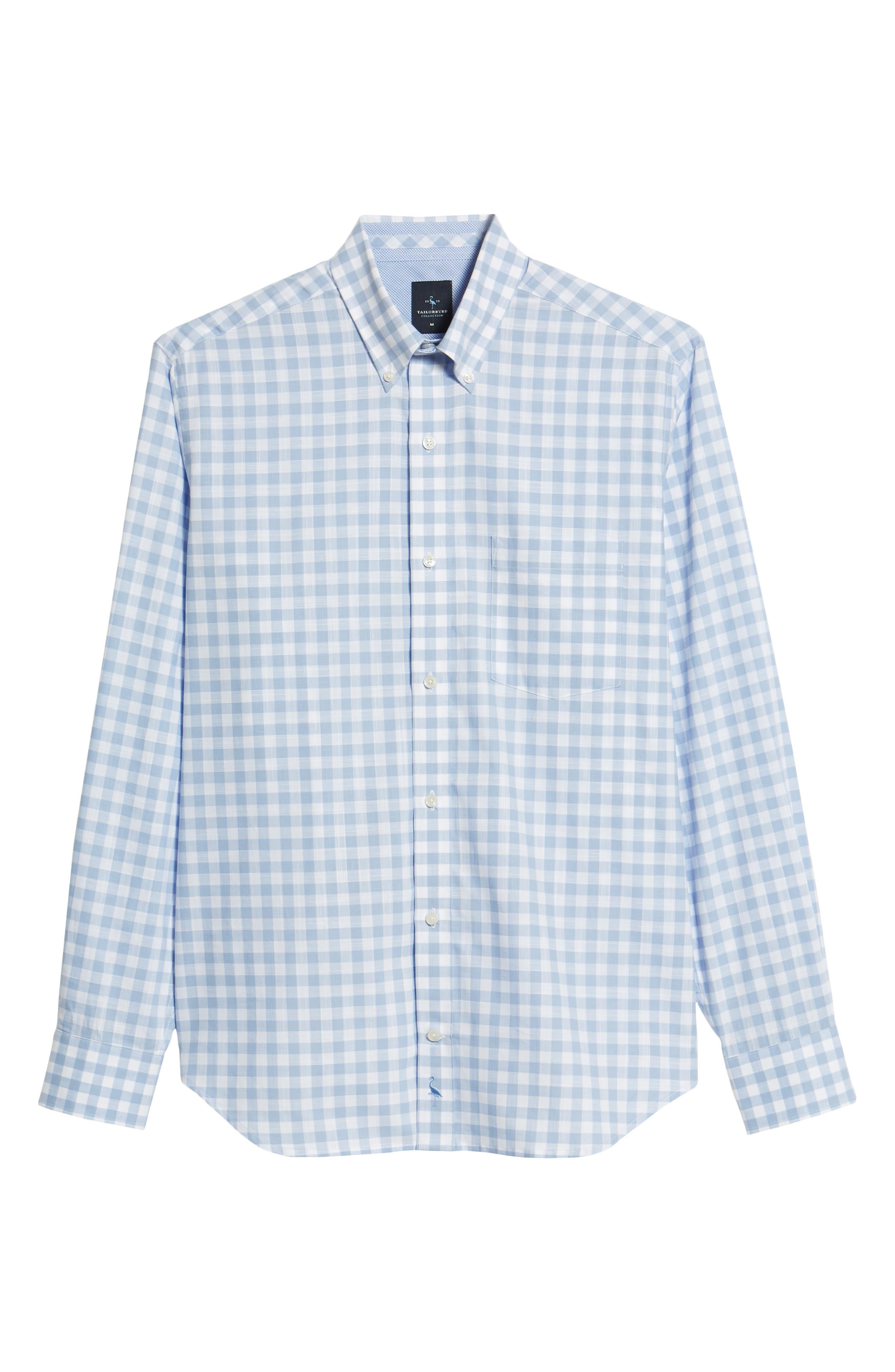 Eitenne Regular Fit Check Sport Shirt,                             Alternate thumbnail 6, color,                             450