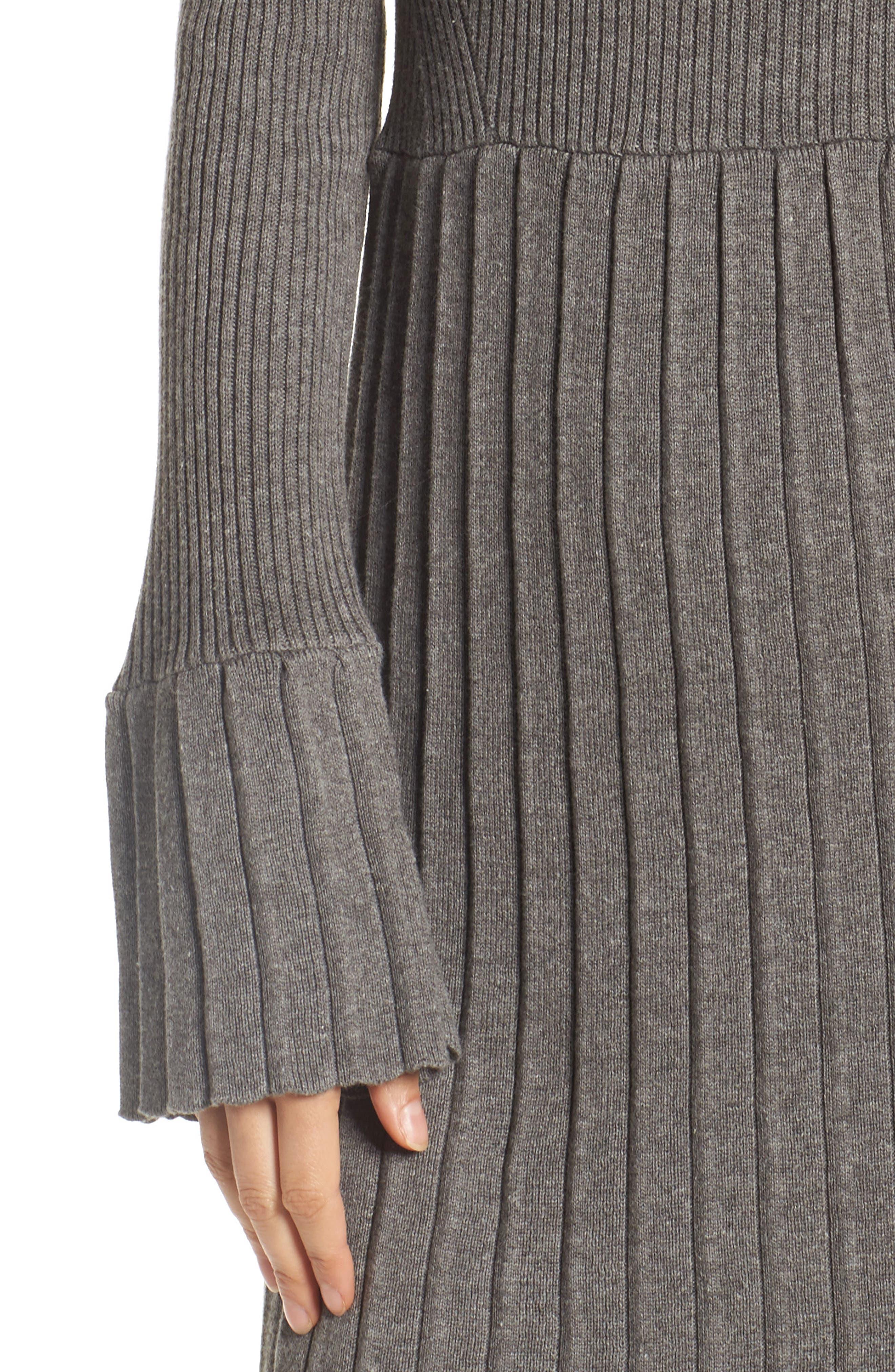 Turtleneck Dress,                             Alternate thumbnail 4, color,                             096