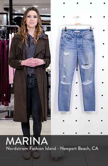 Karolina Rigid High Waist Skinny Jeans, sales video thumbnail