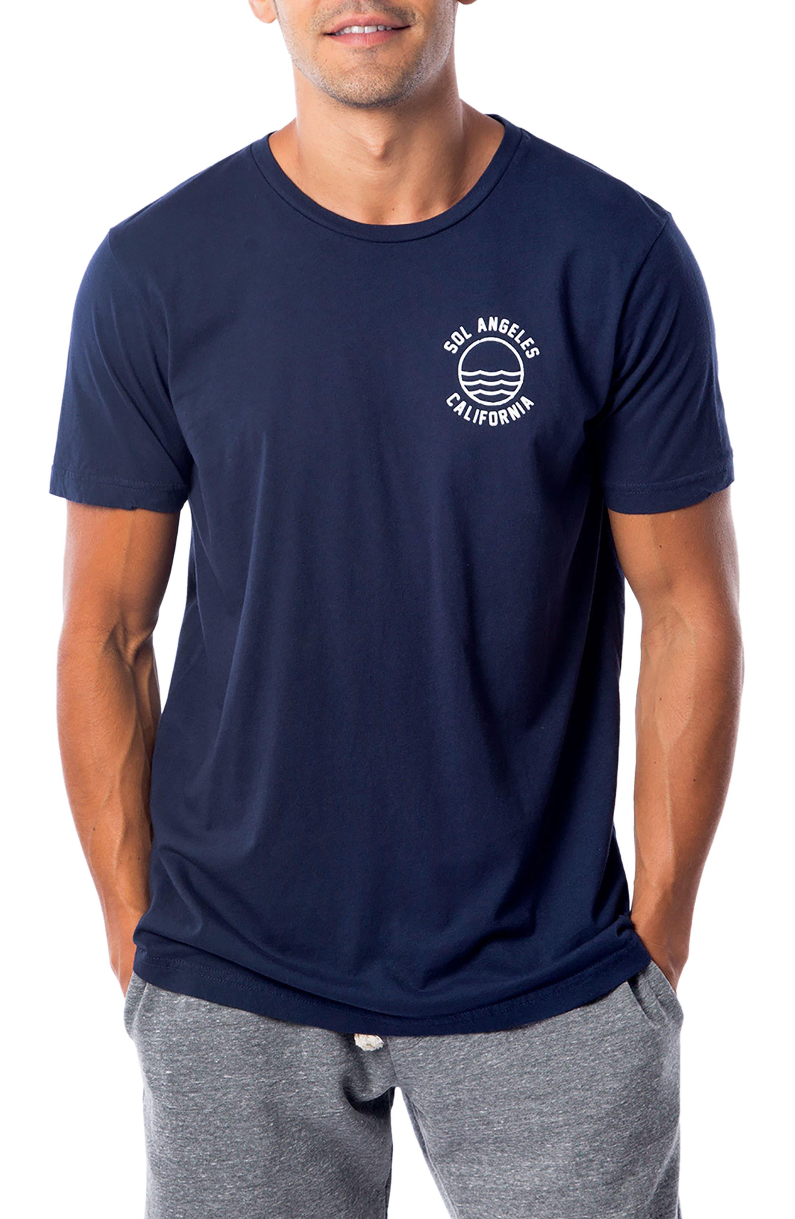 California Graphic T-Shirt,                         Main,                         color, INDIGO