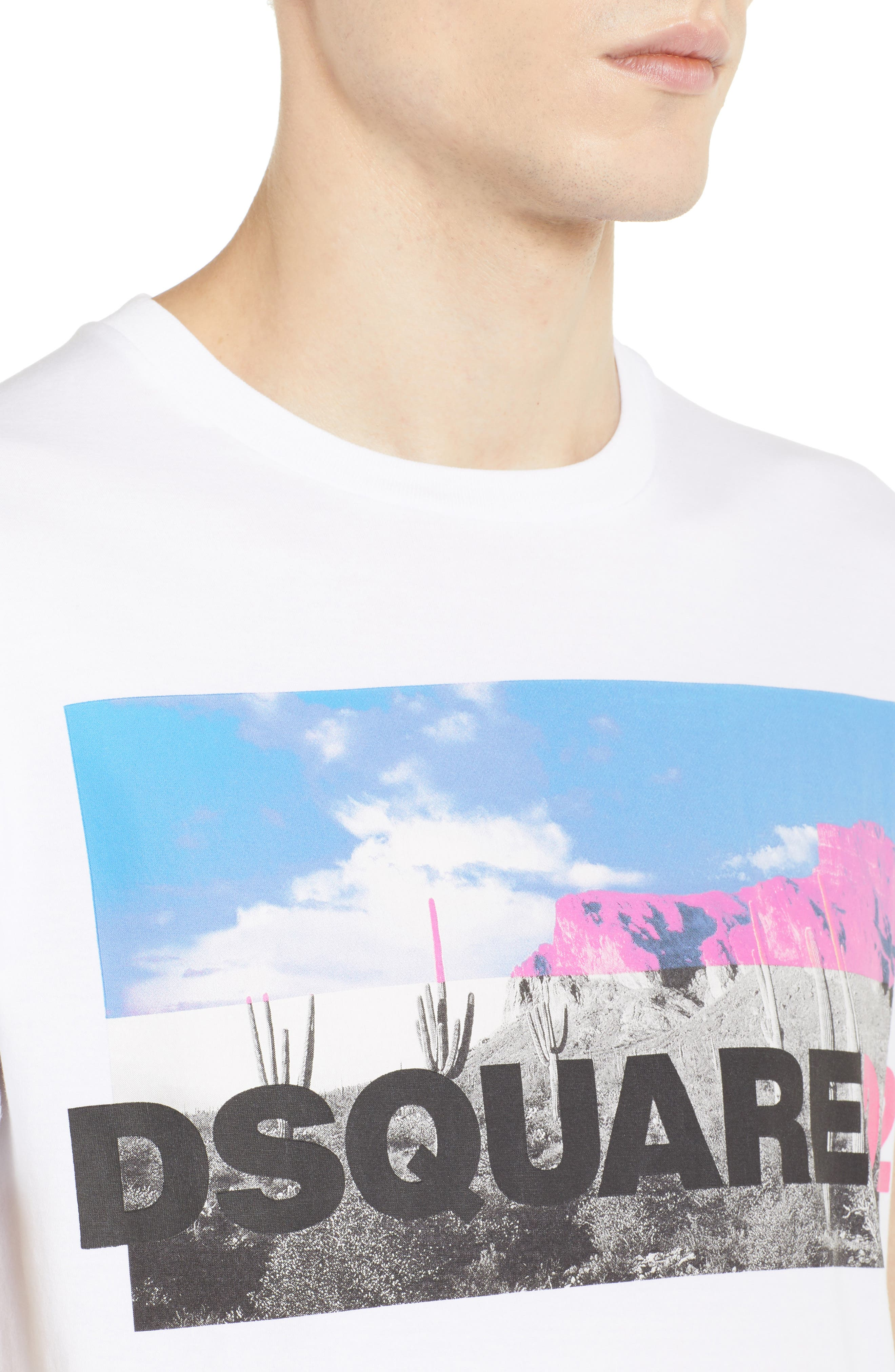 Picture Logo Graphic T-Shirt,                             Alternate thumbnail 4, color,                             100