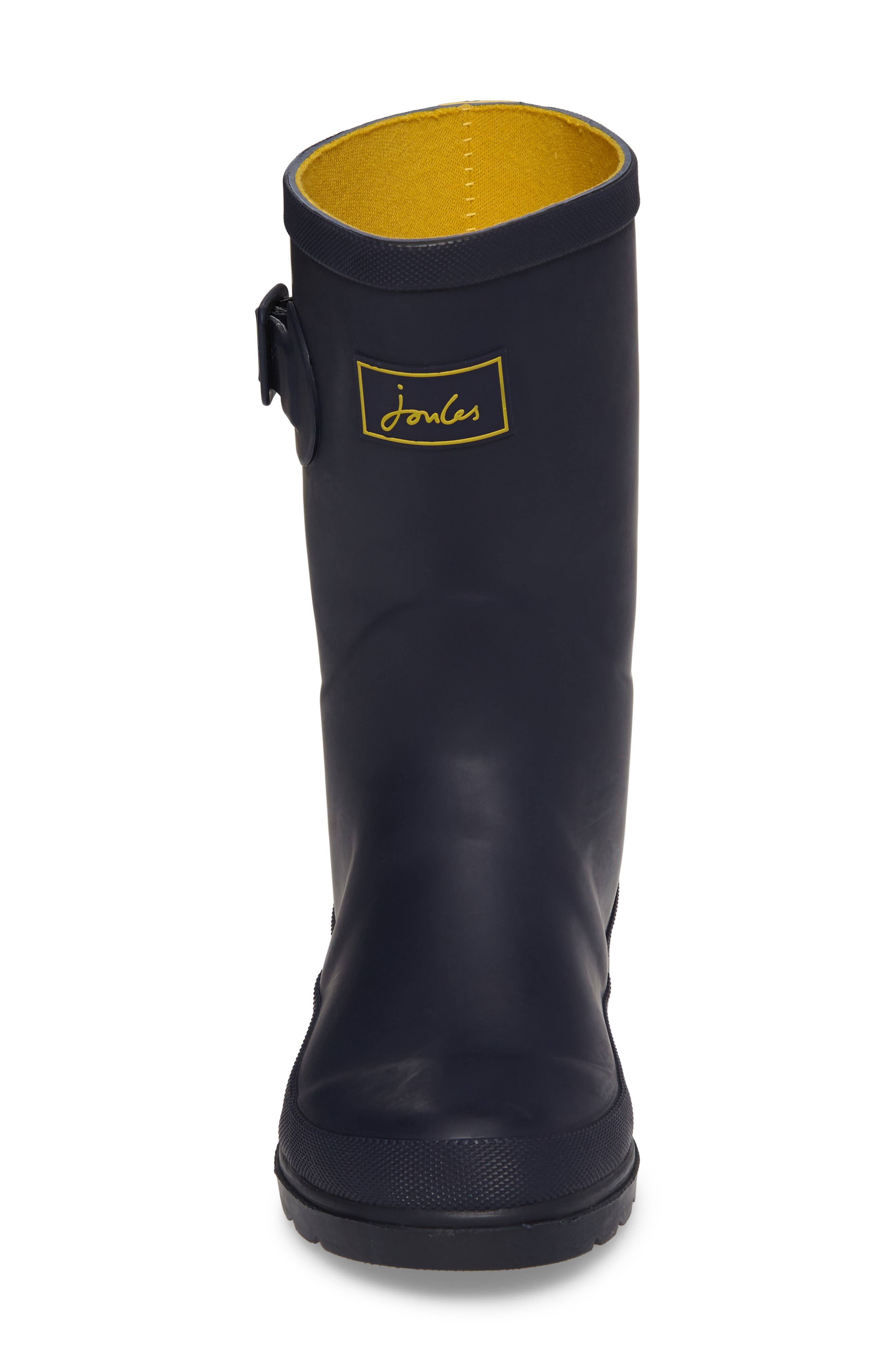 Mid Calf Matte Welly,                             Alternate thumbnail 4, color,                             410