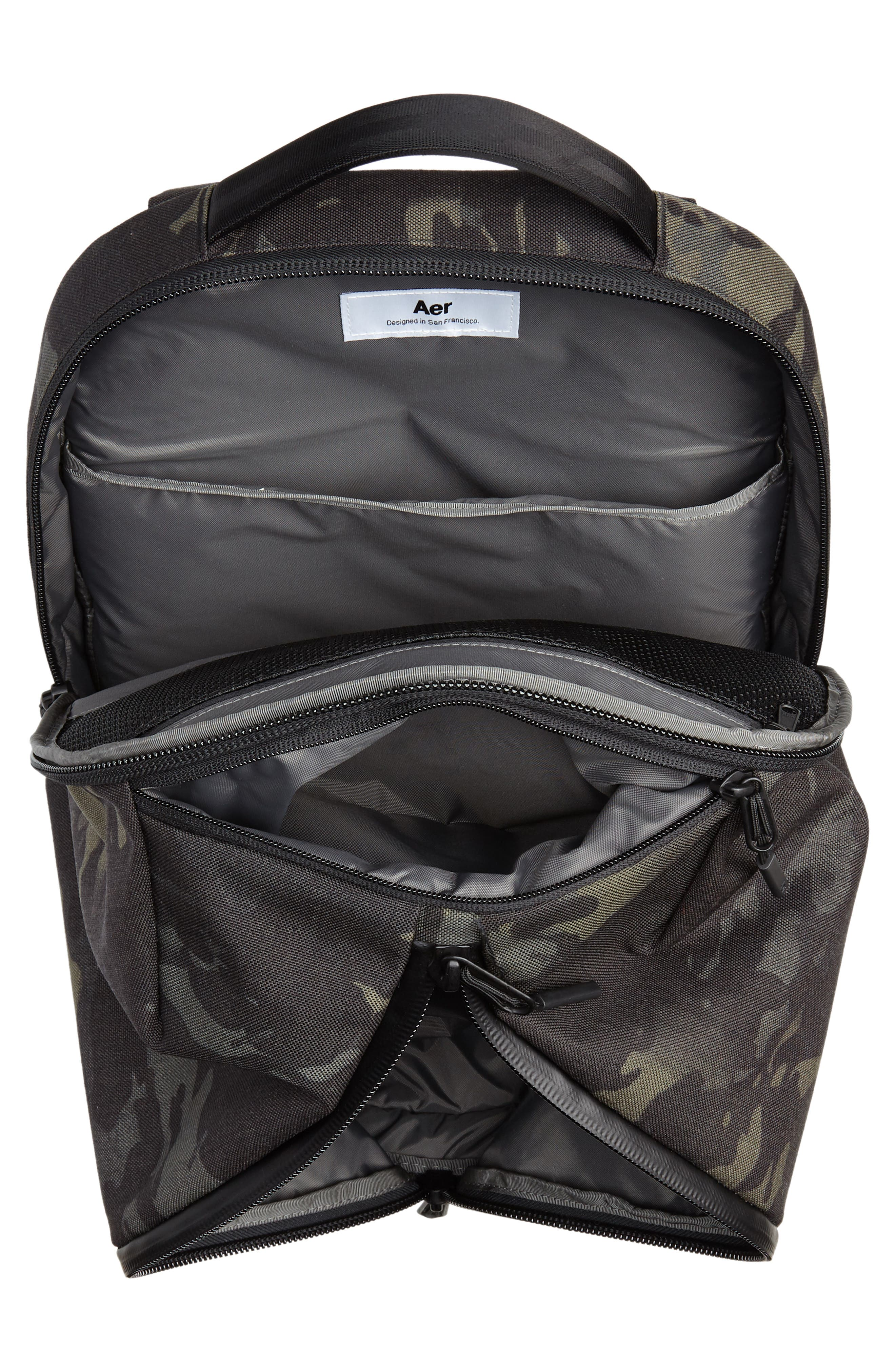 Fit Pack 2 Backpack,                             Alternate thumbnail 4, color,                             BLACK CAMO