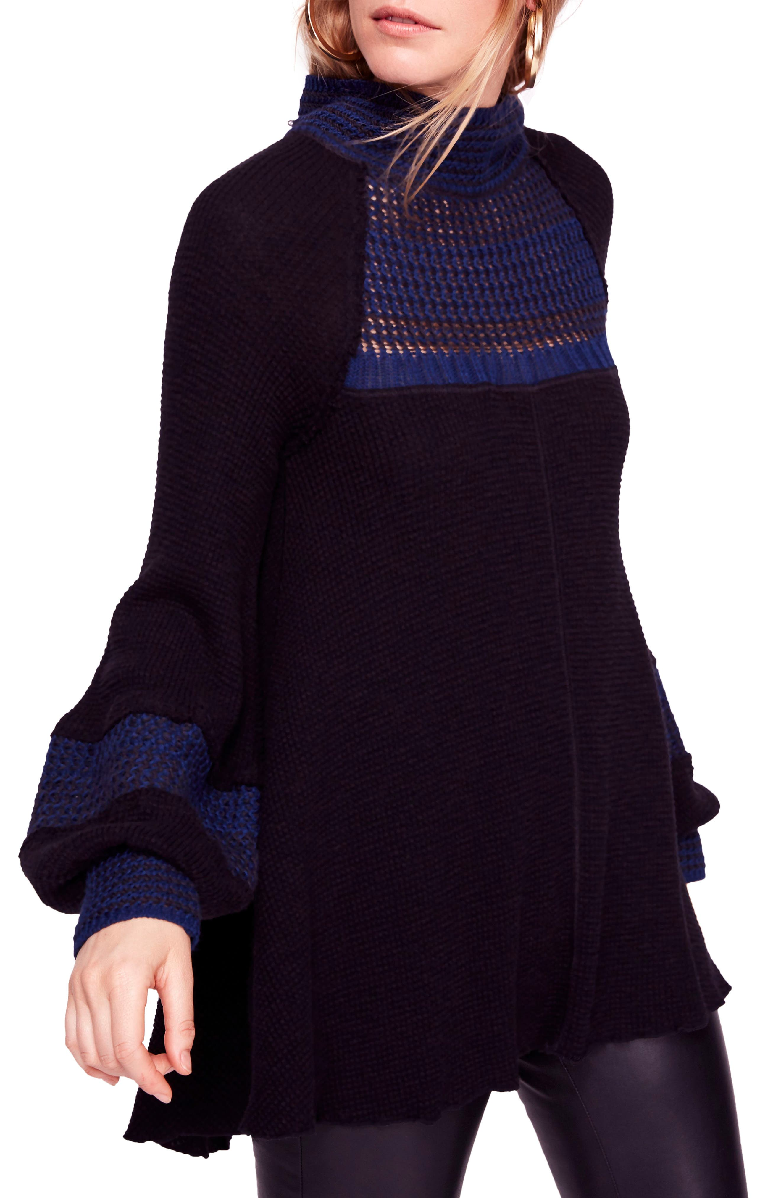 Snow Day Balloon Sleeve Sweater by Free People