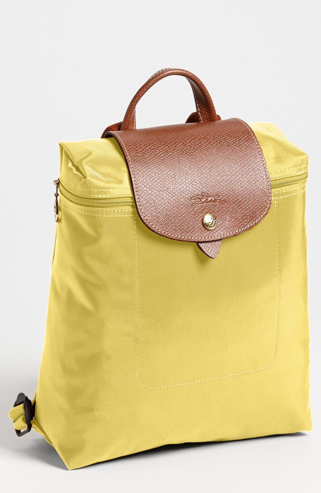 'Le Pliage' Backpack,                         Main,                         color, GUNMETAL