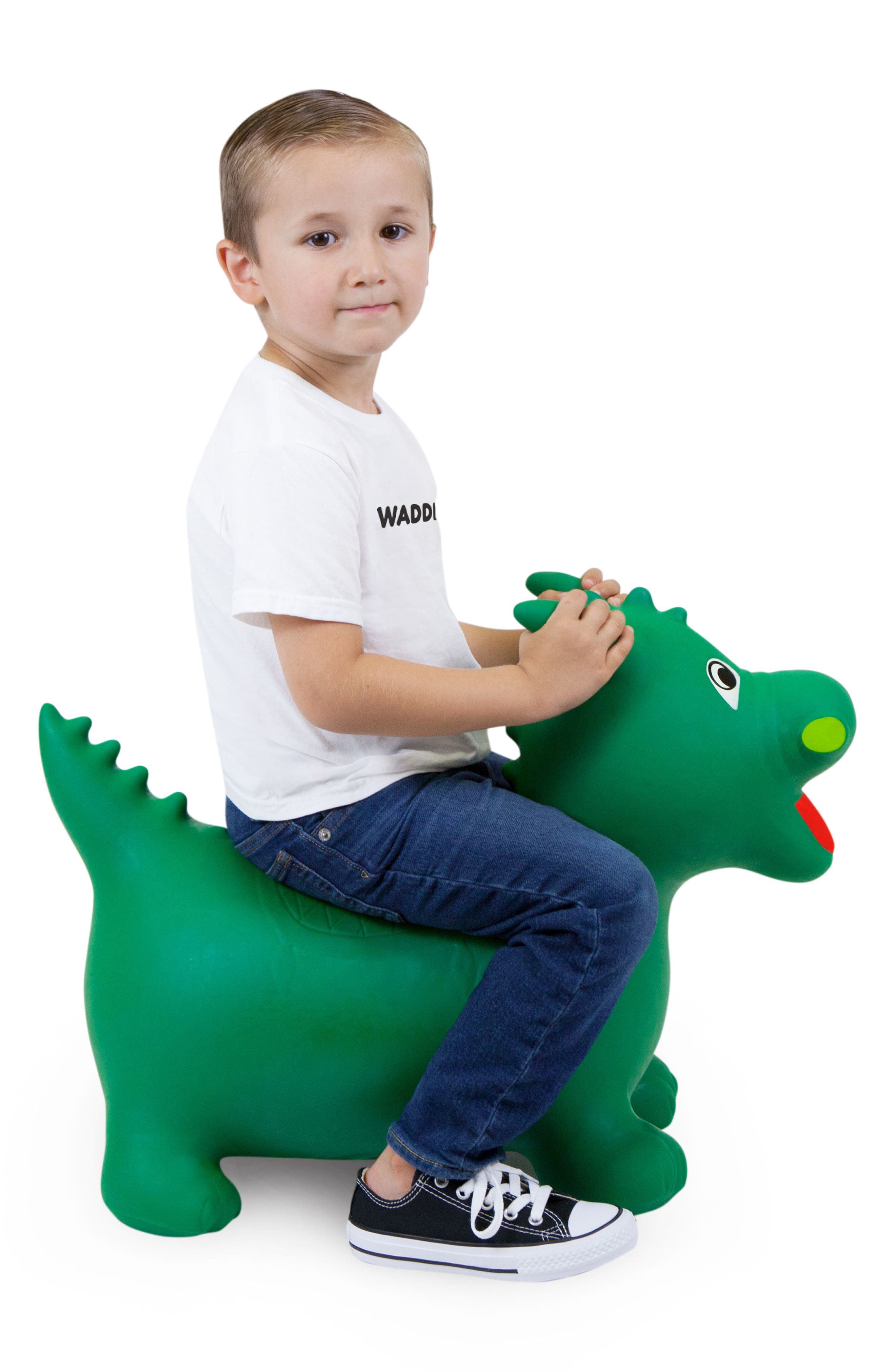 Dragon Bouncy Ride-On Toy,                             Alternate thumbnail 4, color,                             302