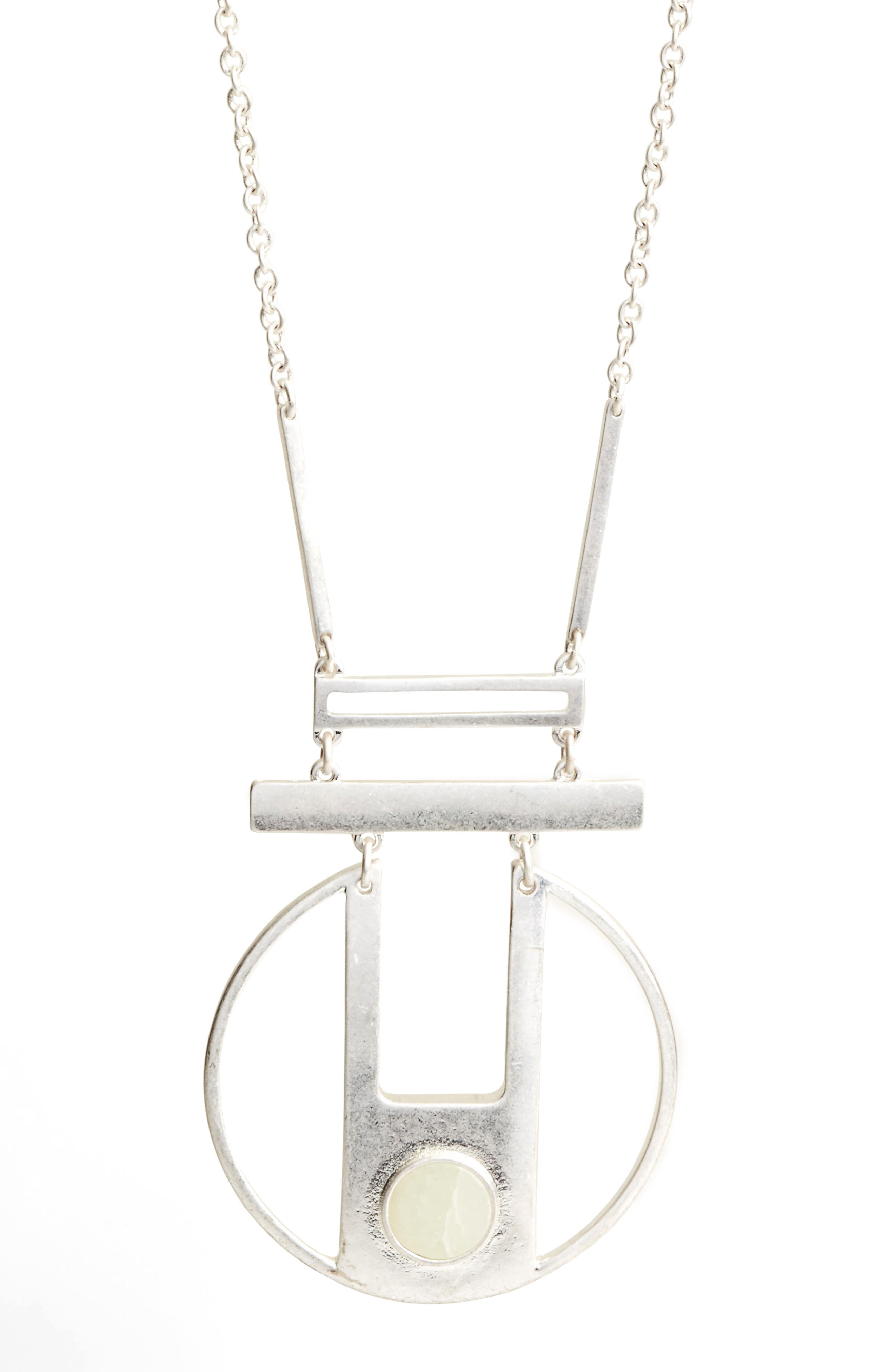 Opal Pendant Necklace,                             Alternate thumbnail 2, color,                             040