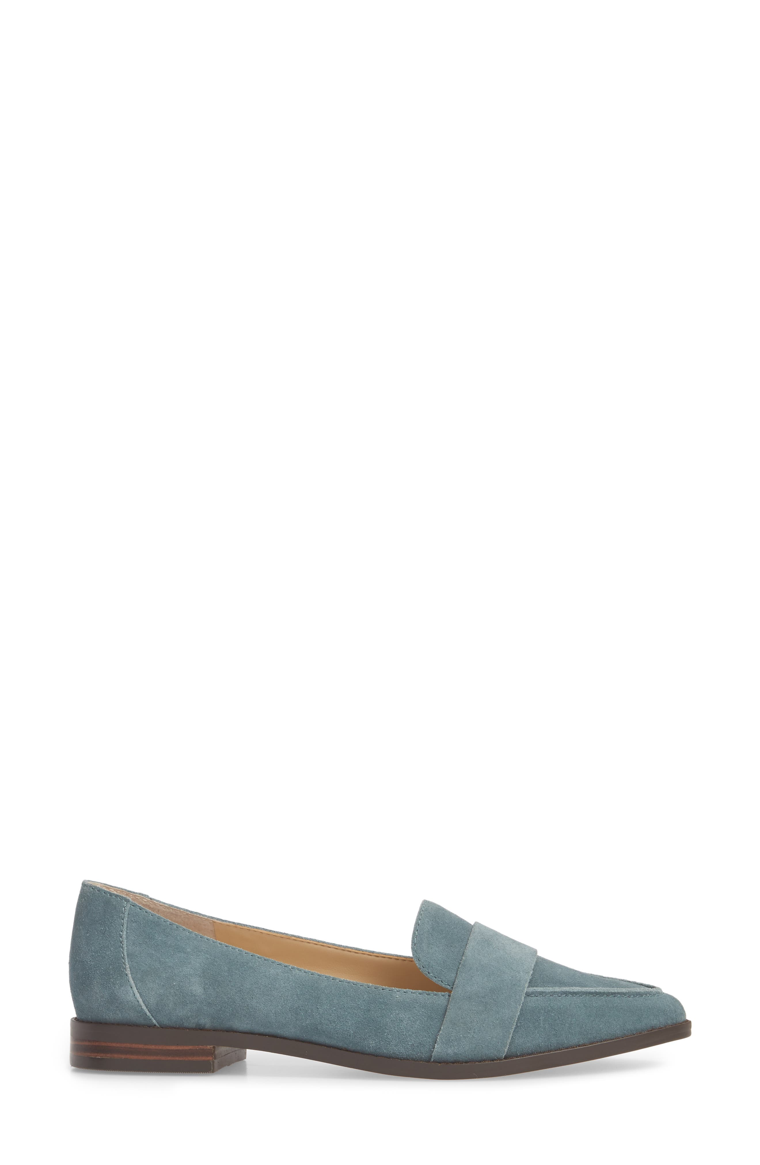 Edie Pointy Toe Loafer,                             Alternate thumbnail 28, color,