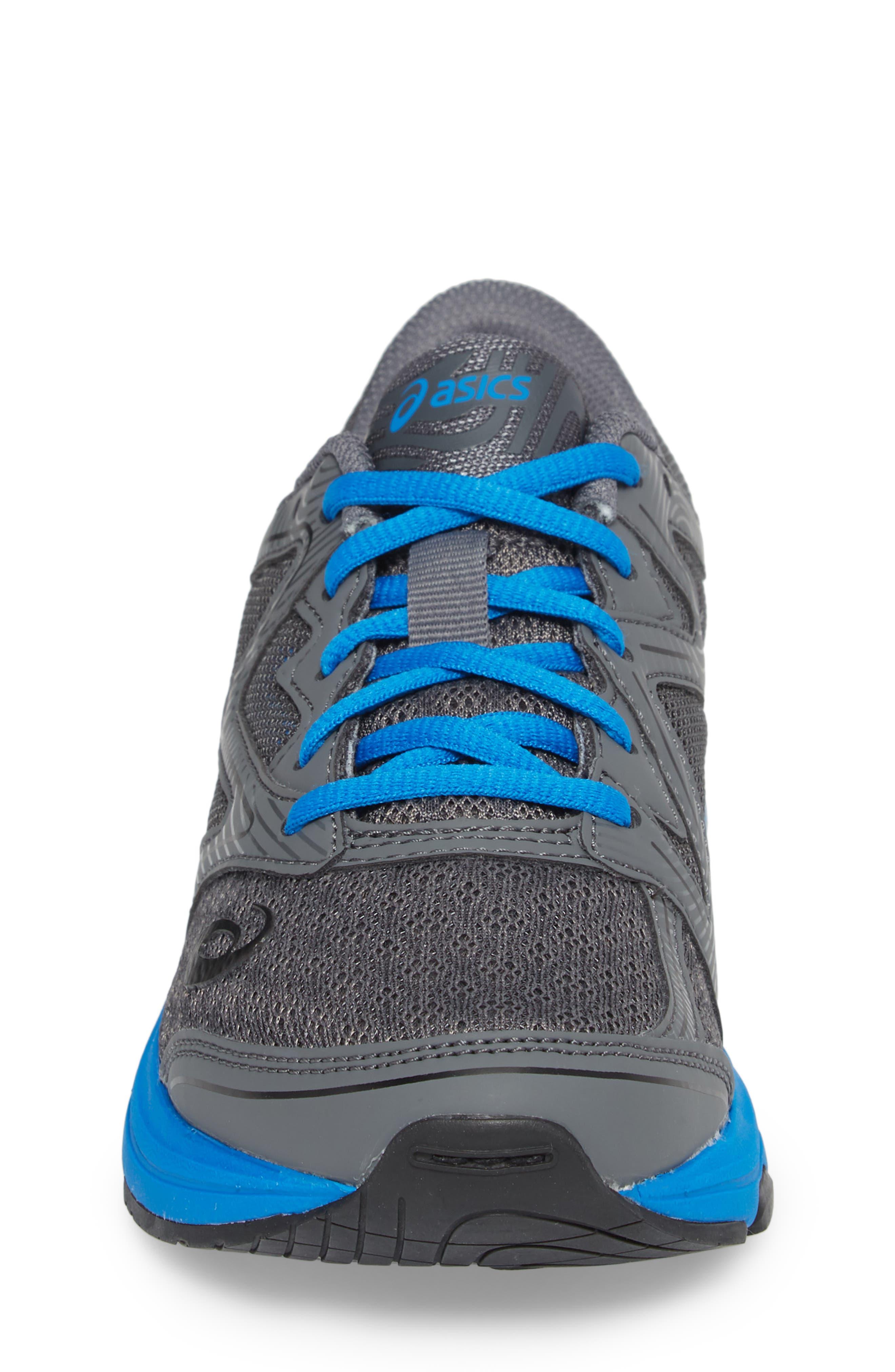 Noosa GS Sneaker,                             Alternate thumbnail 4, color,                             CARBON/ DIRECTOIRE BLUE/ BLACK