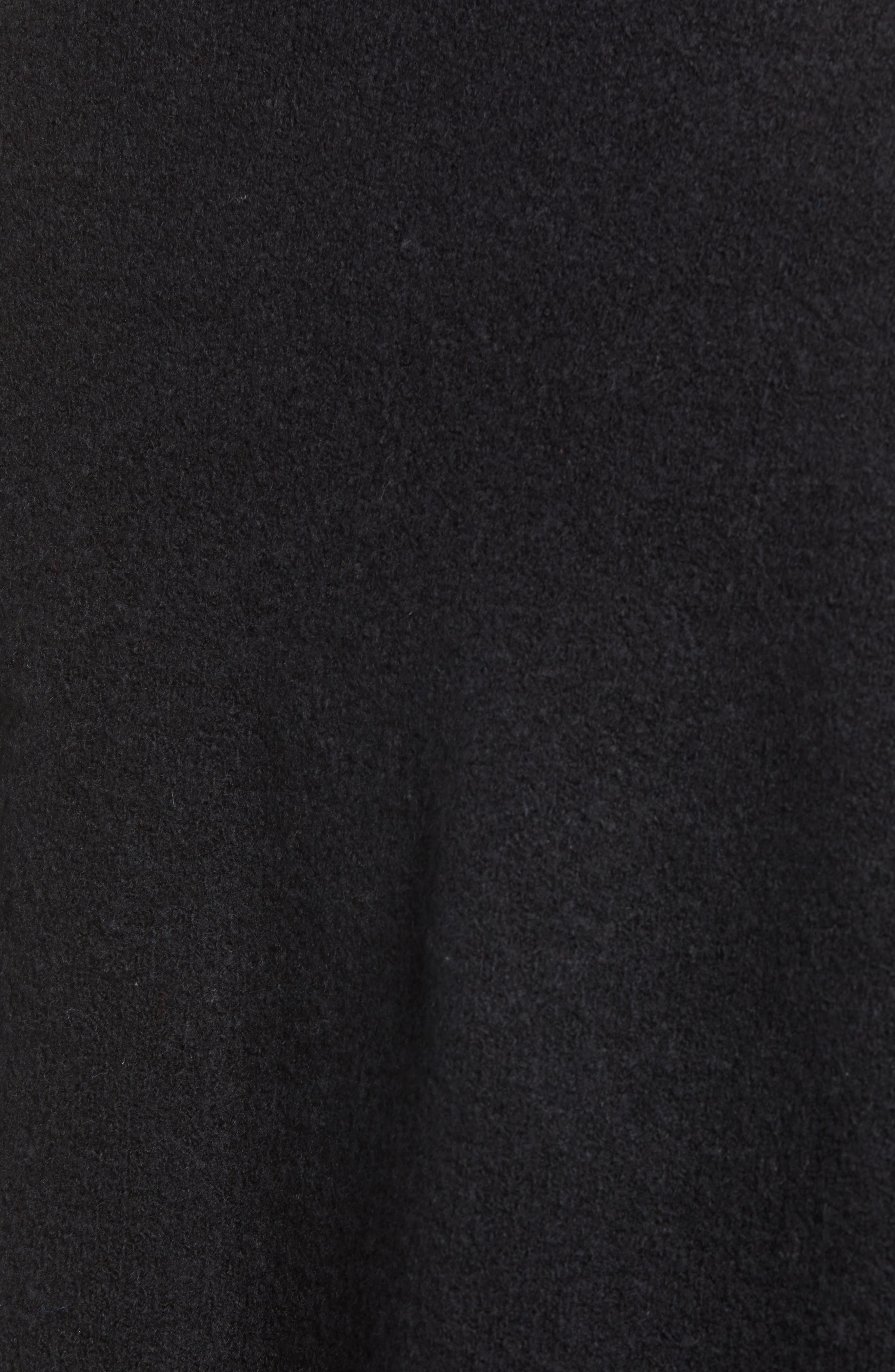 Plush Cardigan,                             Alternate thumbnail 5, color,                             001