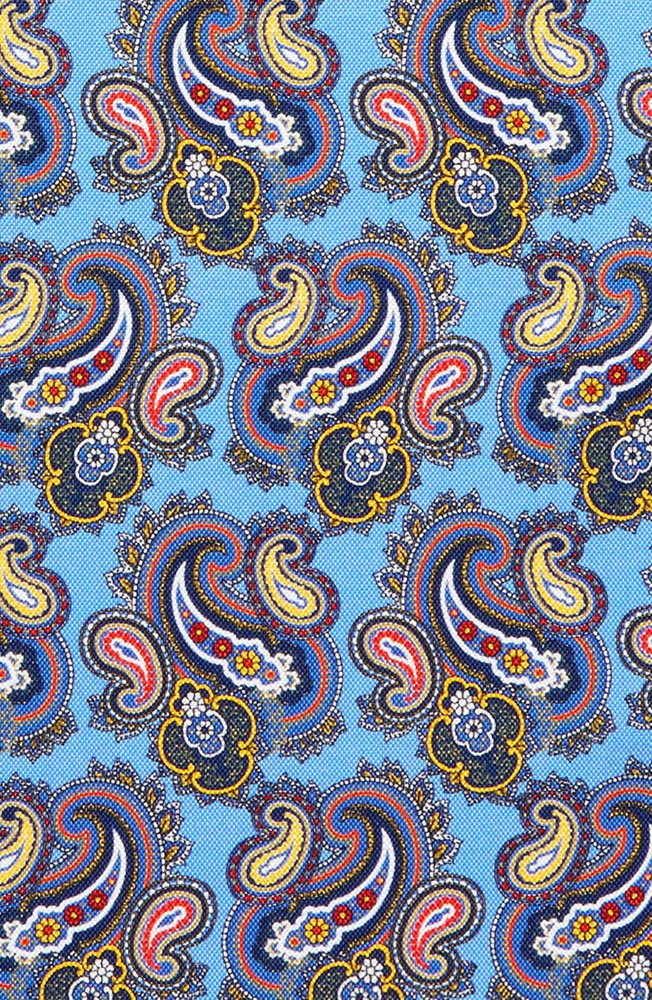 Print Silk Pocket Square,                             Alternate thumbnail 7, color,