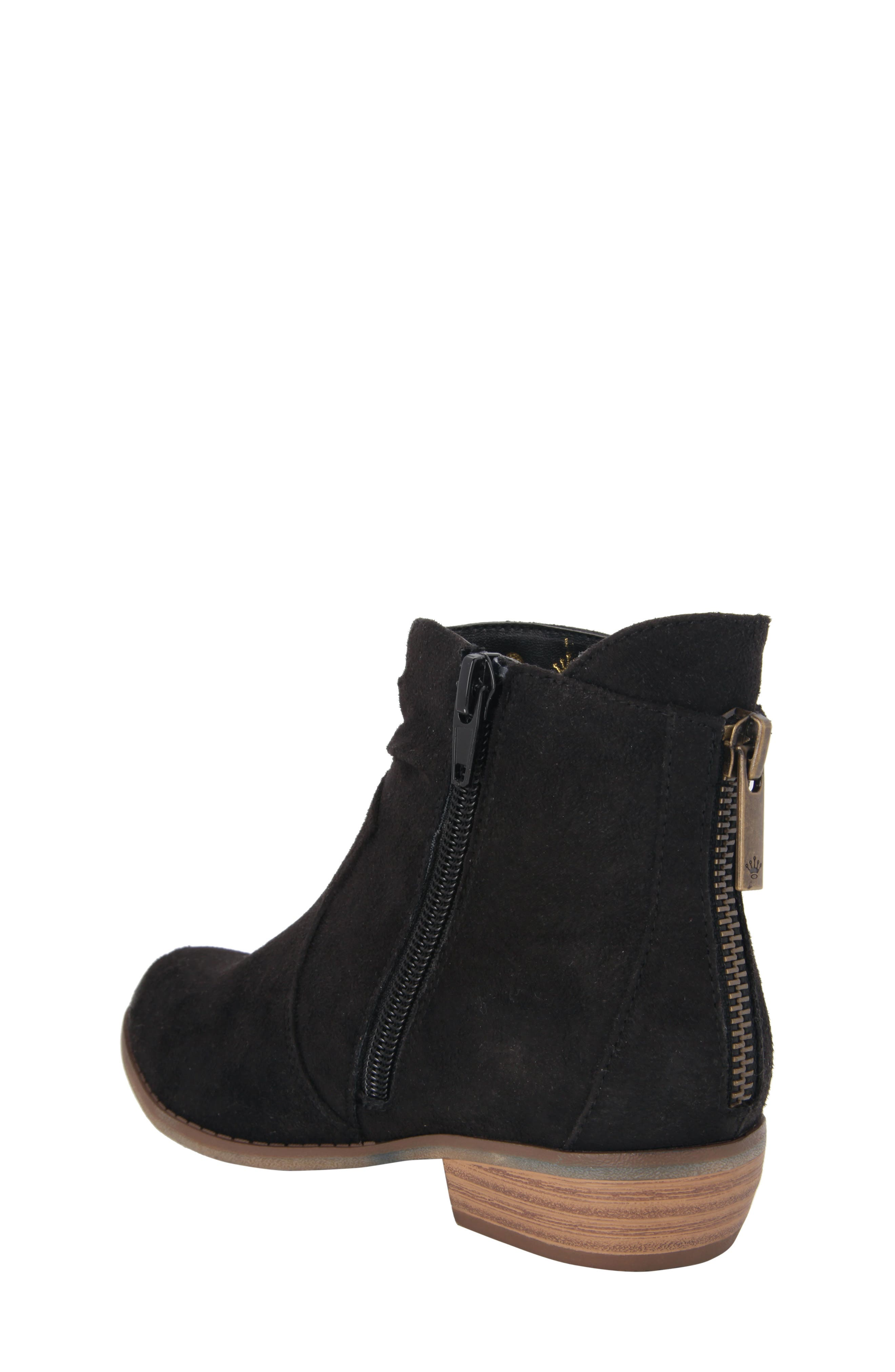 Delia Slightly Slouchy Bootie,                             Alternate thumbnail 2, color,                             003