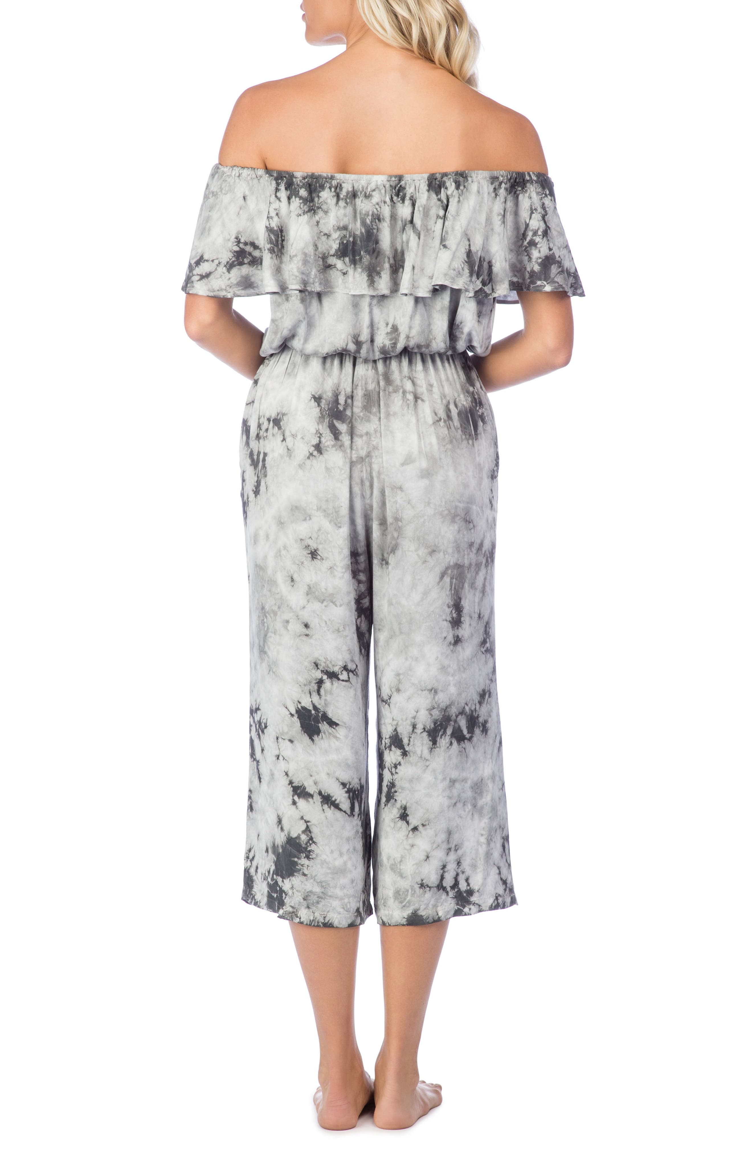 Crystal Forest Mira Cover-Up Jumpsuit,                             Alternate thumbnail 2, color,                             020