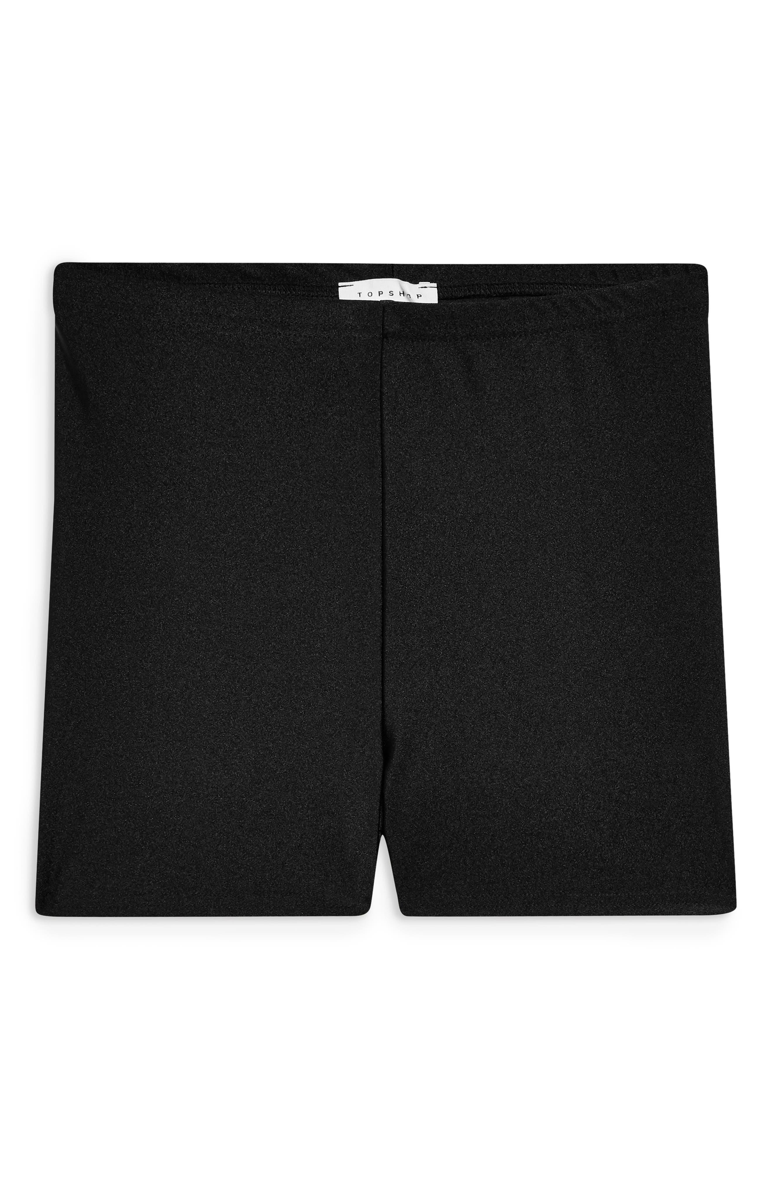 Micro Biker Shorts,                             Alternate thumbnail 3, color,                             BLACK