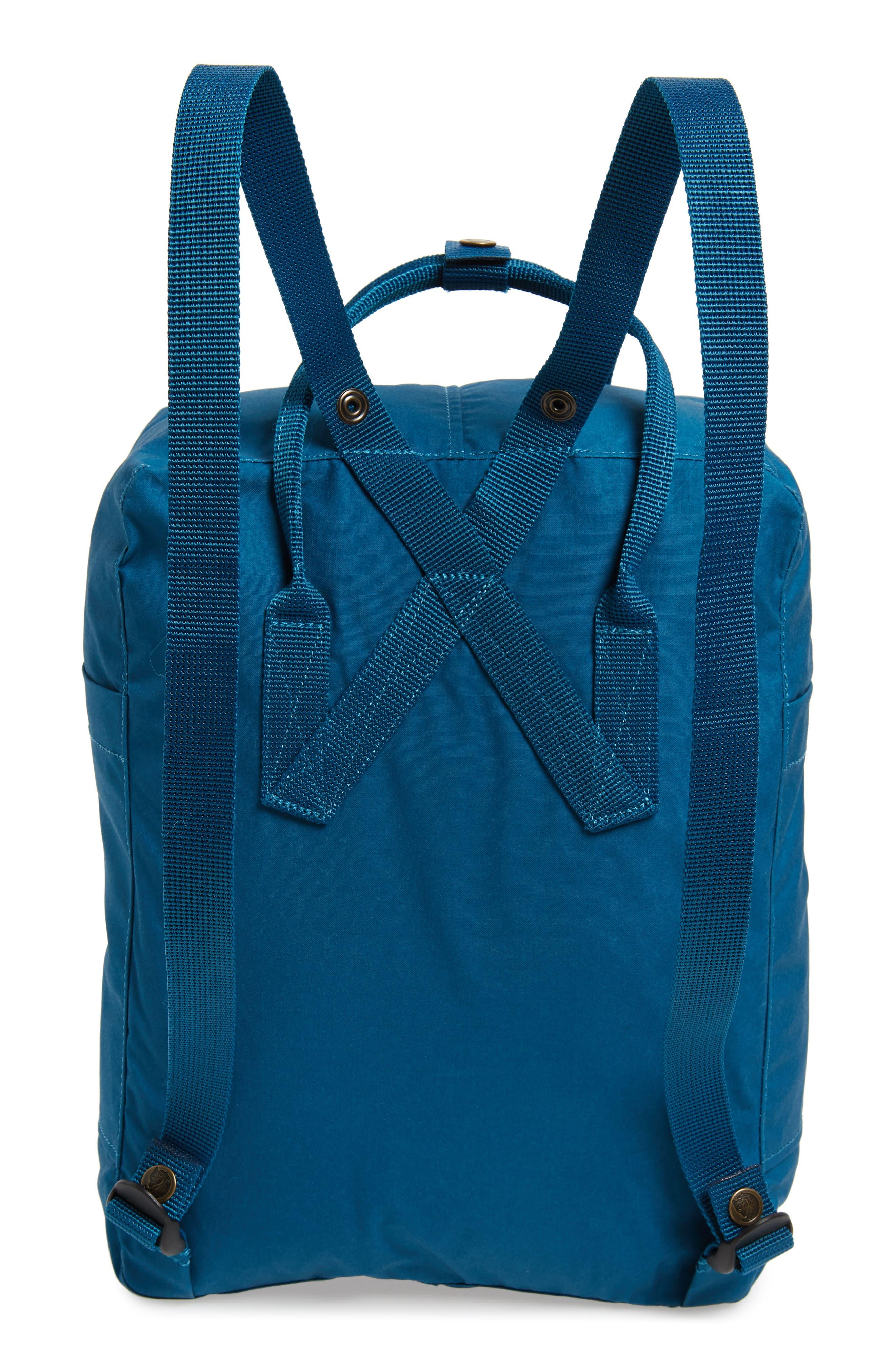 'Kånken' Water Resistant Backpack,                             Alternate thumbnail 3, color,                             GLACIER GREEN