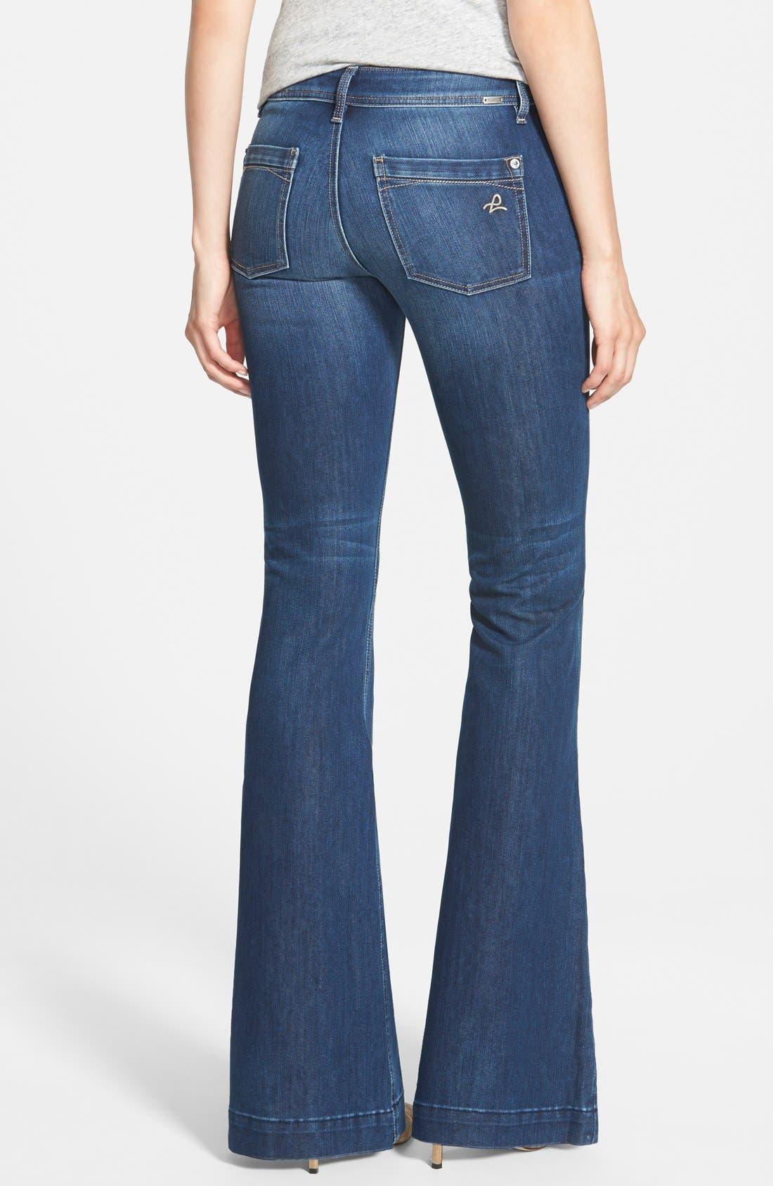 'Joy' Flare Jeans,                             Alternate thumbnail 2, color,                             425