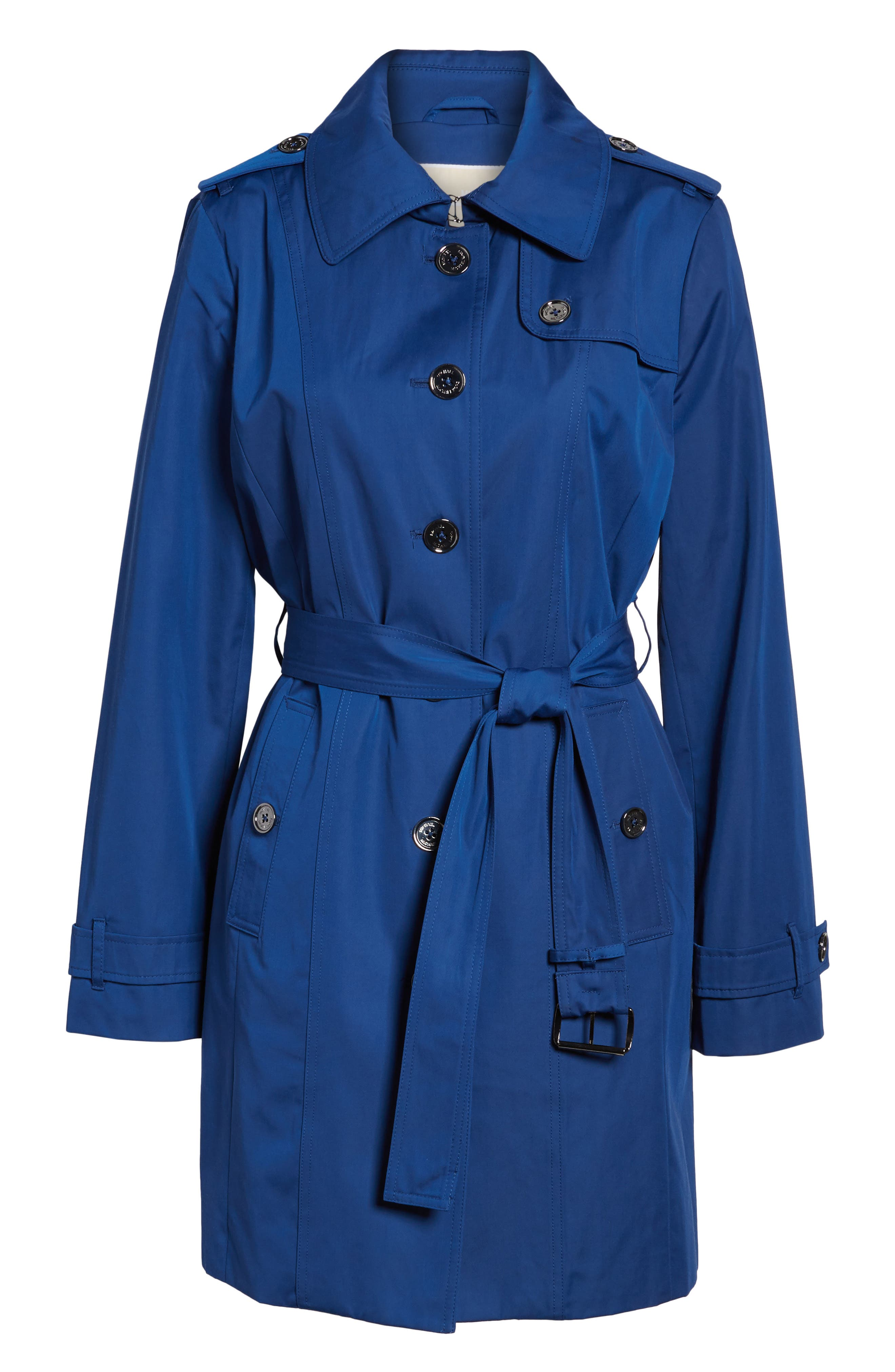 Core Trench Coat with Removable Hood & Liner,                             Alternate thumbnail 5, color,                             431