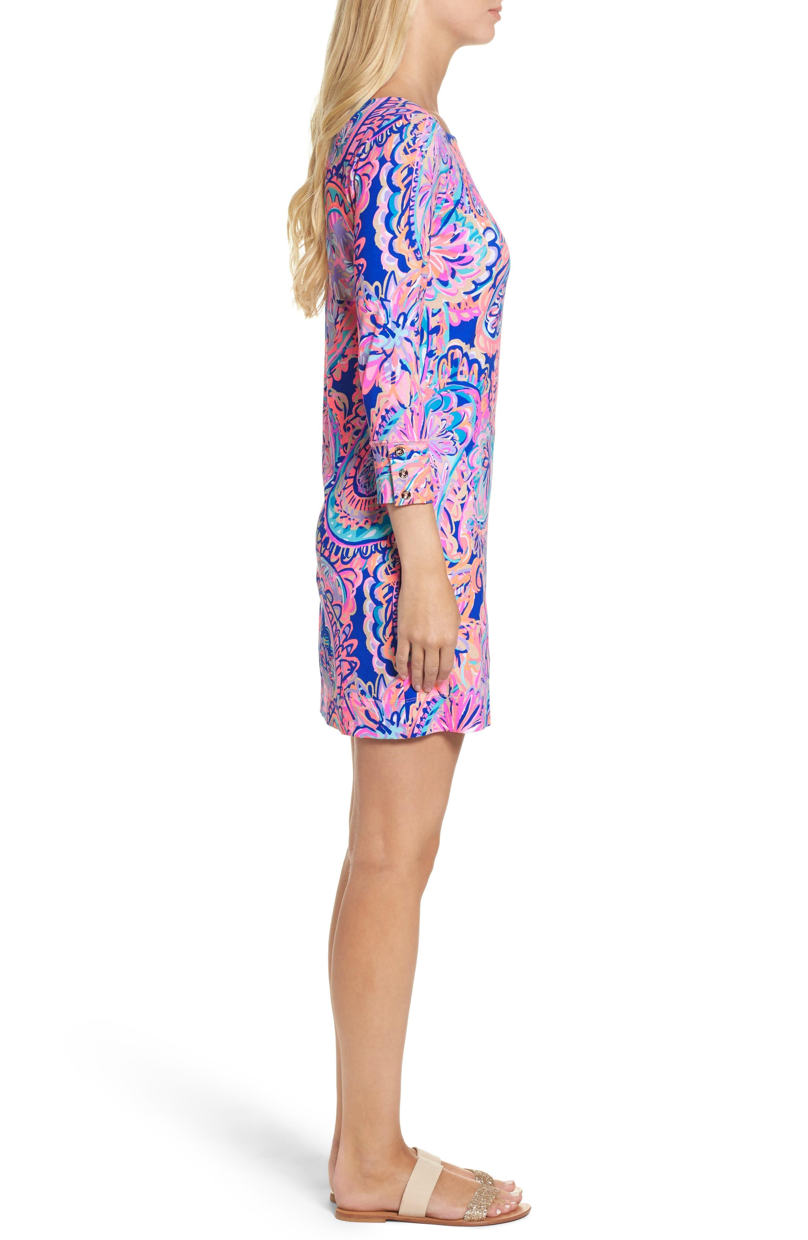 Sophie UPF 50+ Dress,                             Alternate thumbnail 3, color,                             454