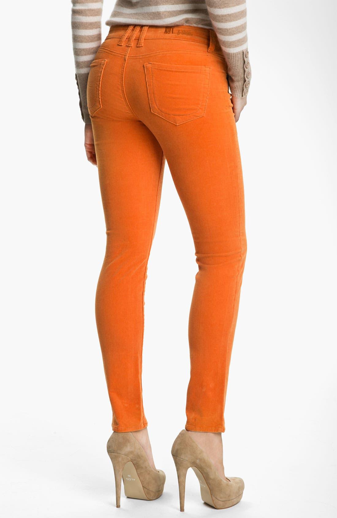 'Diana' Stretch Corduroy Skinny Pants,                             Alternate thumbnail 152, color,