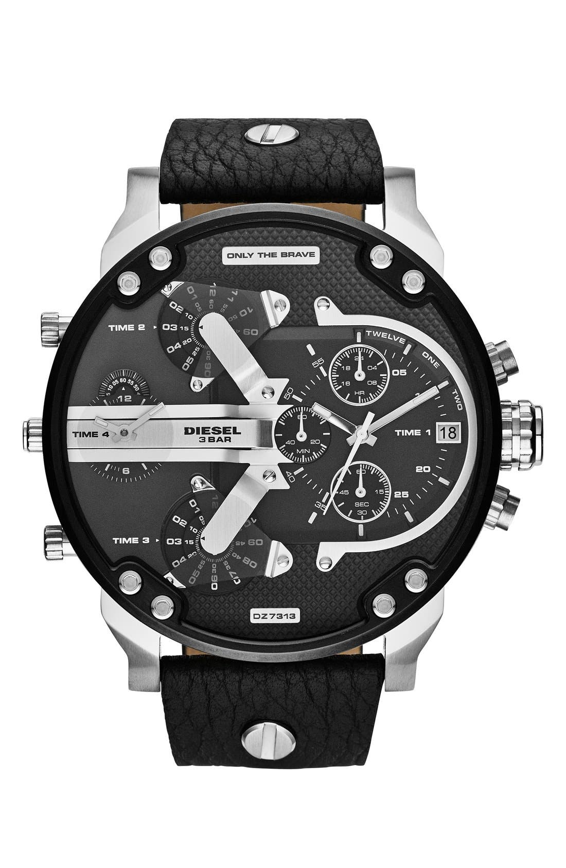 'Mr. Daddy 2.0' Chronograph Watch, 57mm,                         Main,                         color, 001