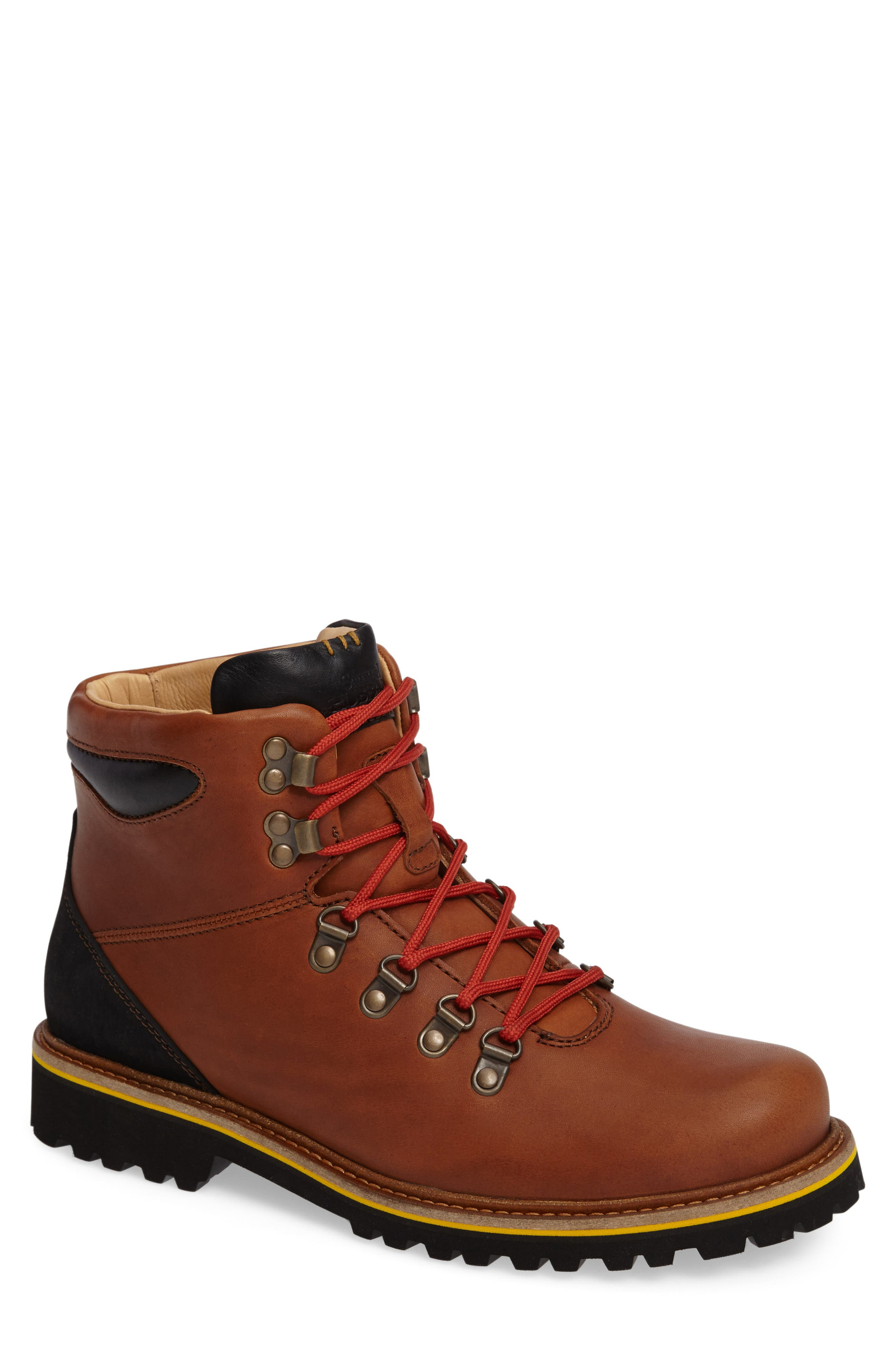 Mt. Tam Hiking Boot,                         Main,                         color, SADDLEBAG TAN LEATHER