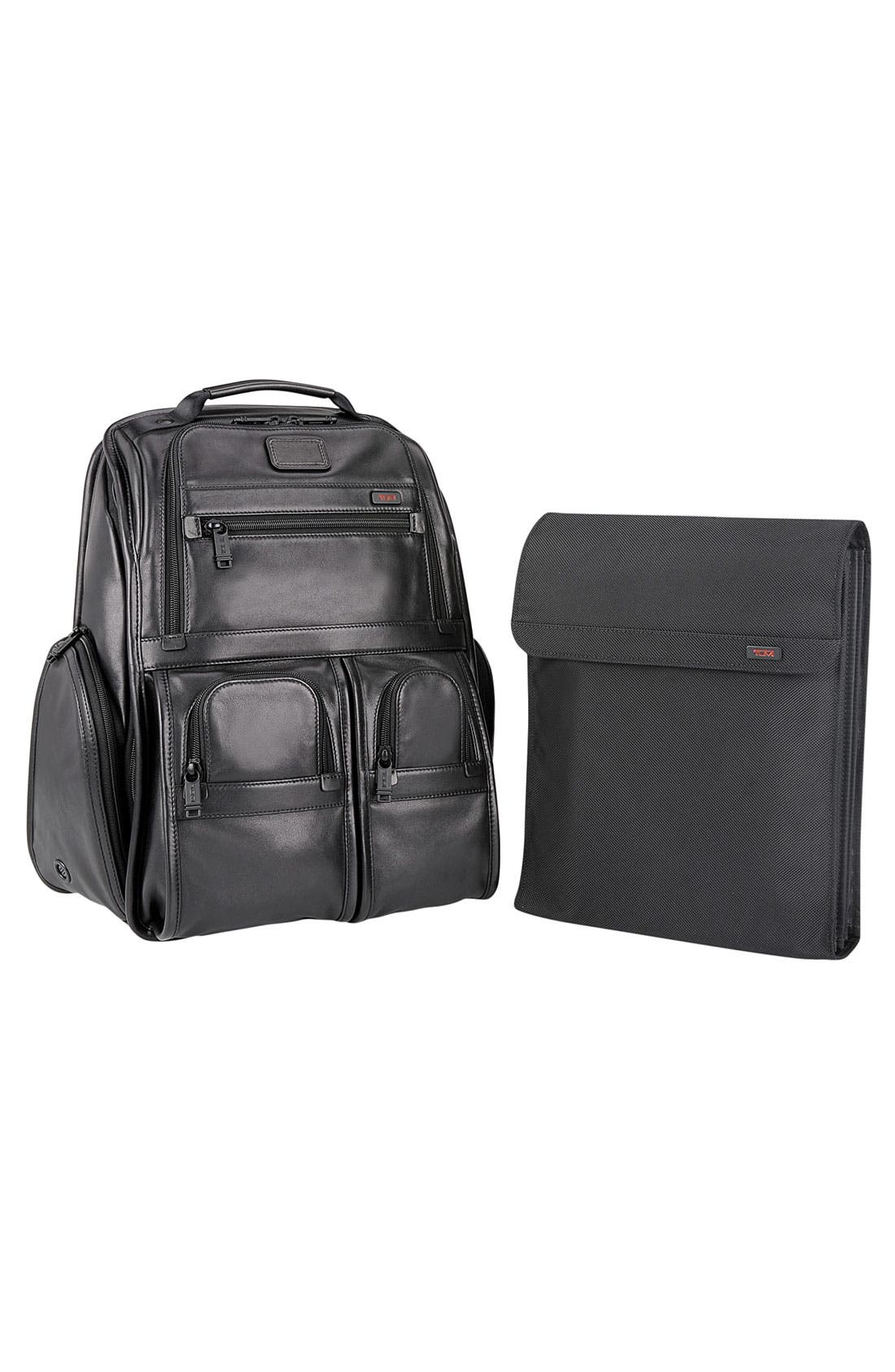 'Alpha' Laptop Backpack,                             Alternate thumbnail 4, color,                             001