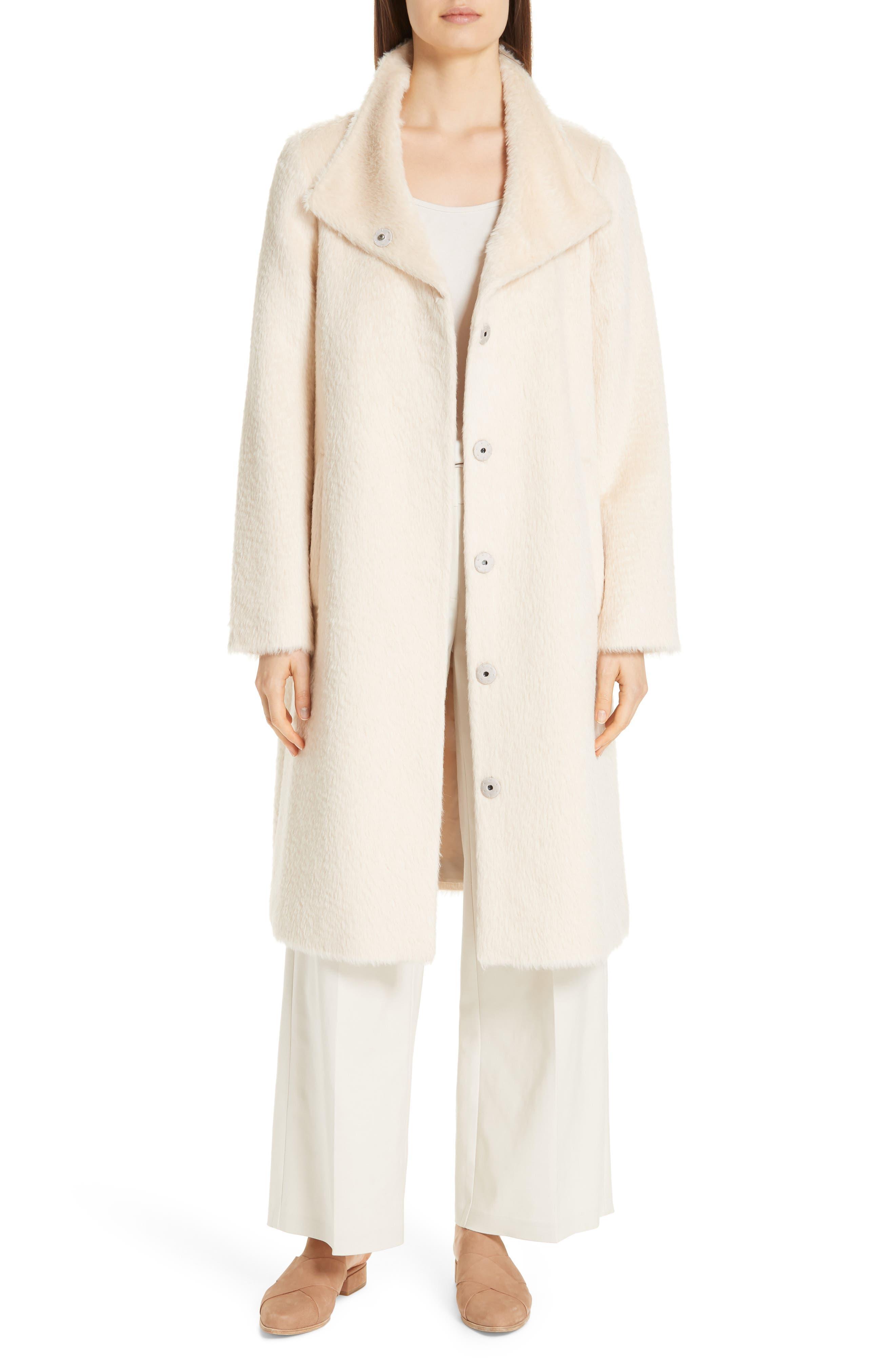 Alpaca Blend Long Coat, Main, color, 278