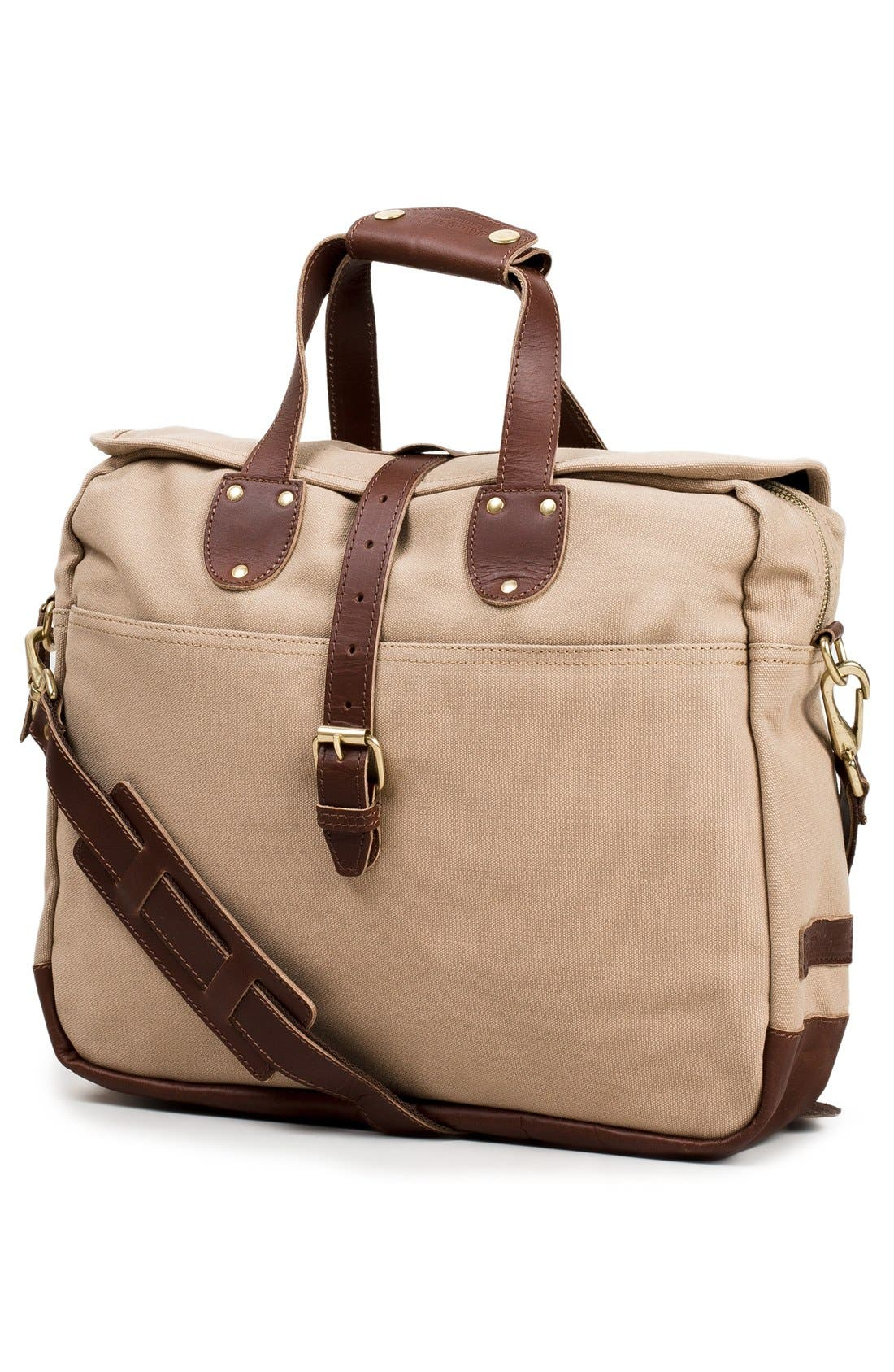'Lakeland' Laptop Bag,                             Alternate thumbnail 5, color,                             TAN