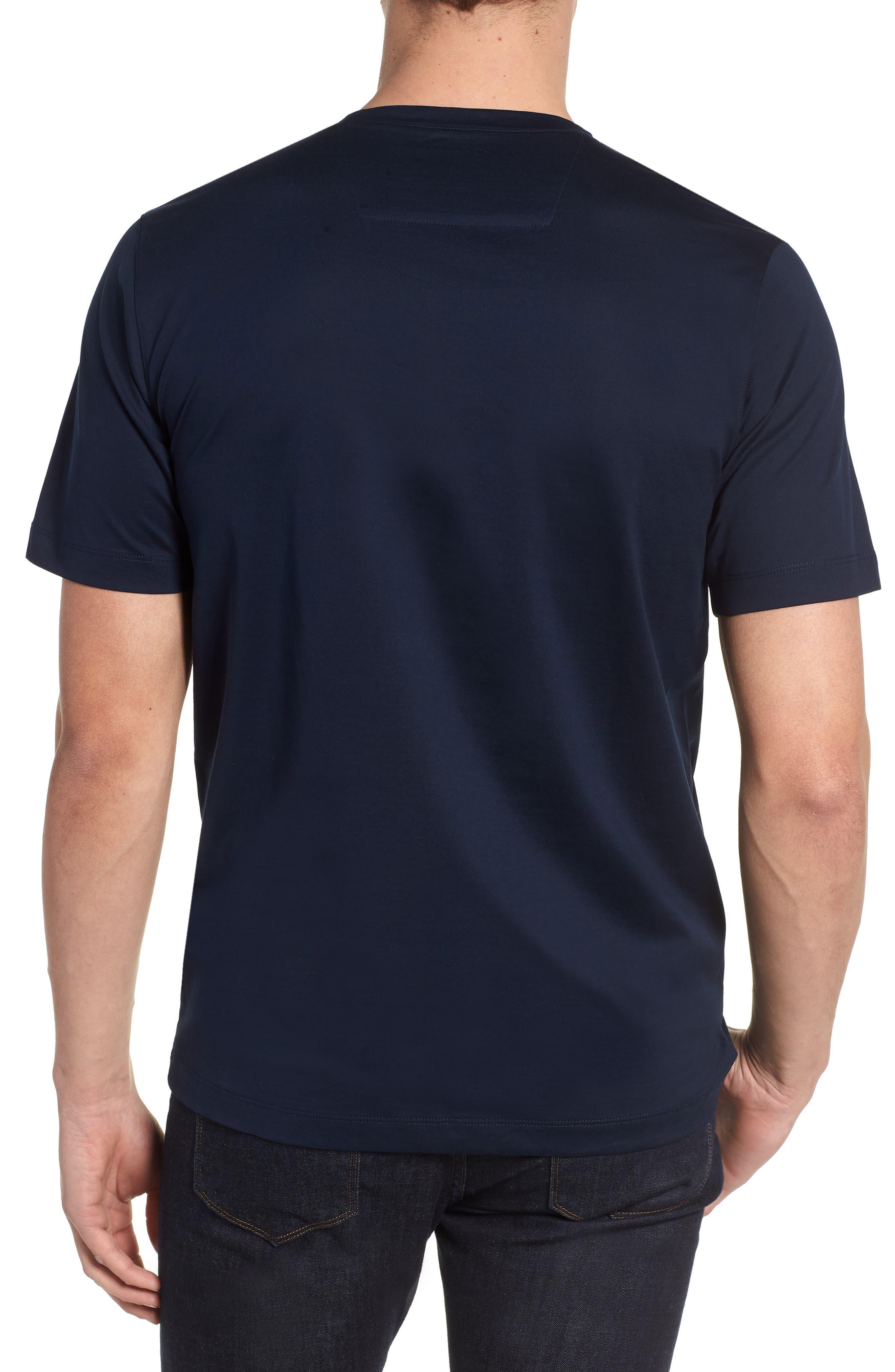 BUGATCHI,                             Crewneck T-Shirt,                             Alternate thumbnail 2, color,                             411