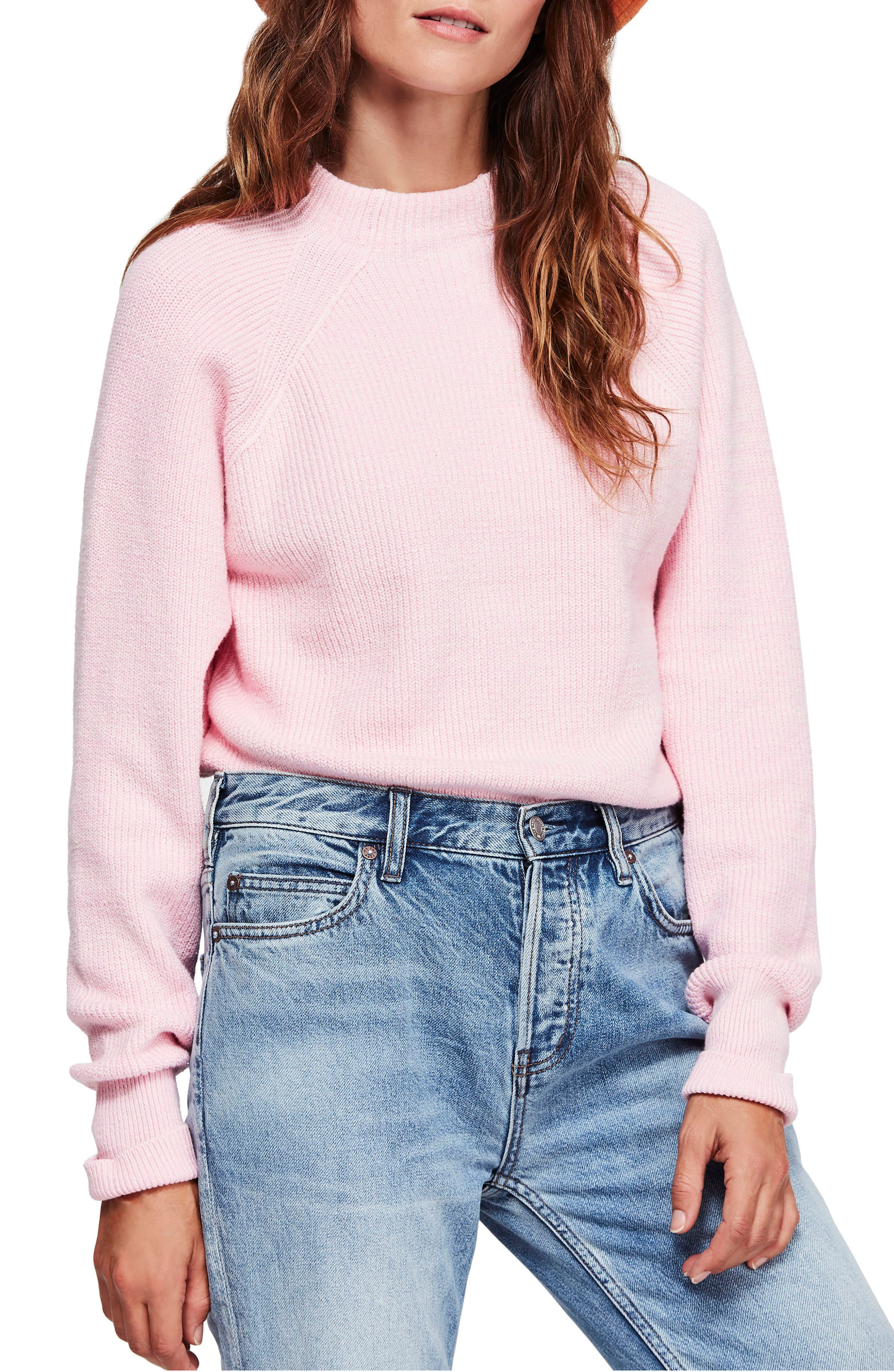 Too Good Sweater,                         Main,                         color, PINK