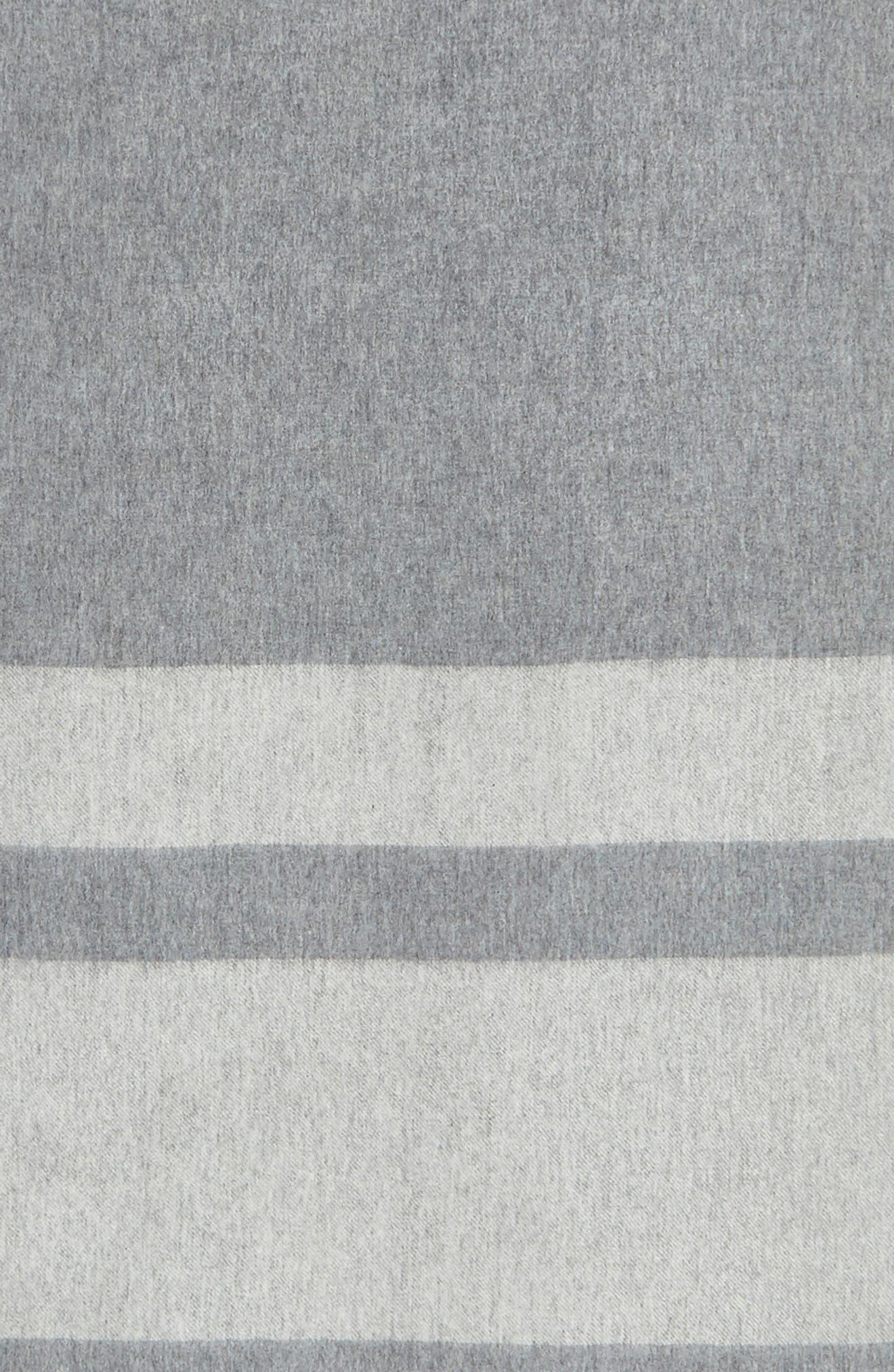 Lazio Stripe Wool Scarf,                             Alternate thumbnail 4, color,                             020