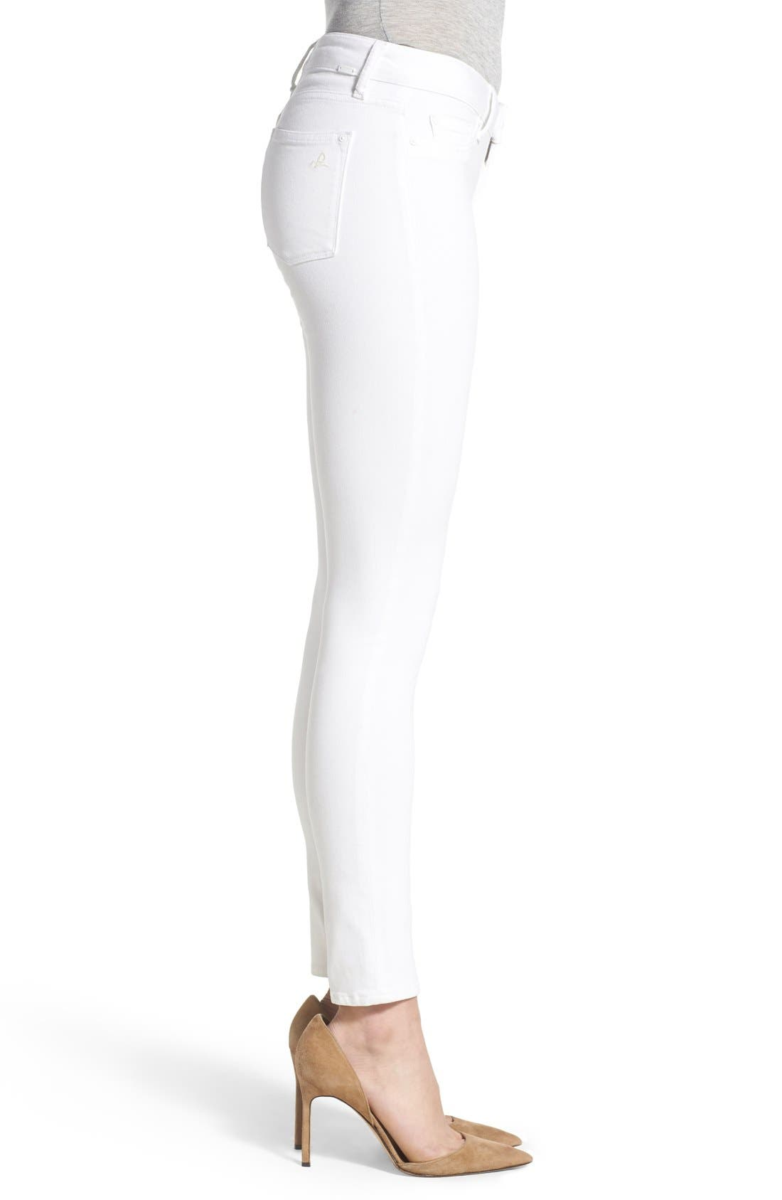 'Emma' Power Legging Jeans,                             Alternate thumbnail 3, color,                             100