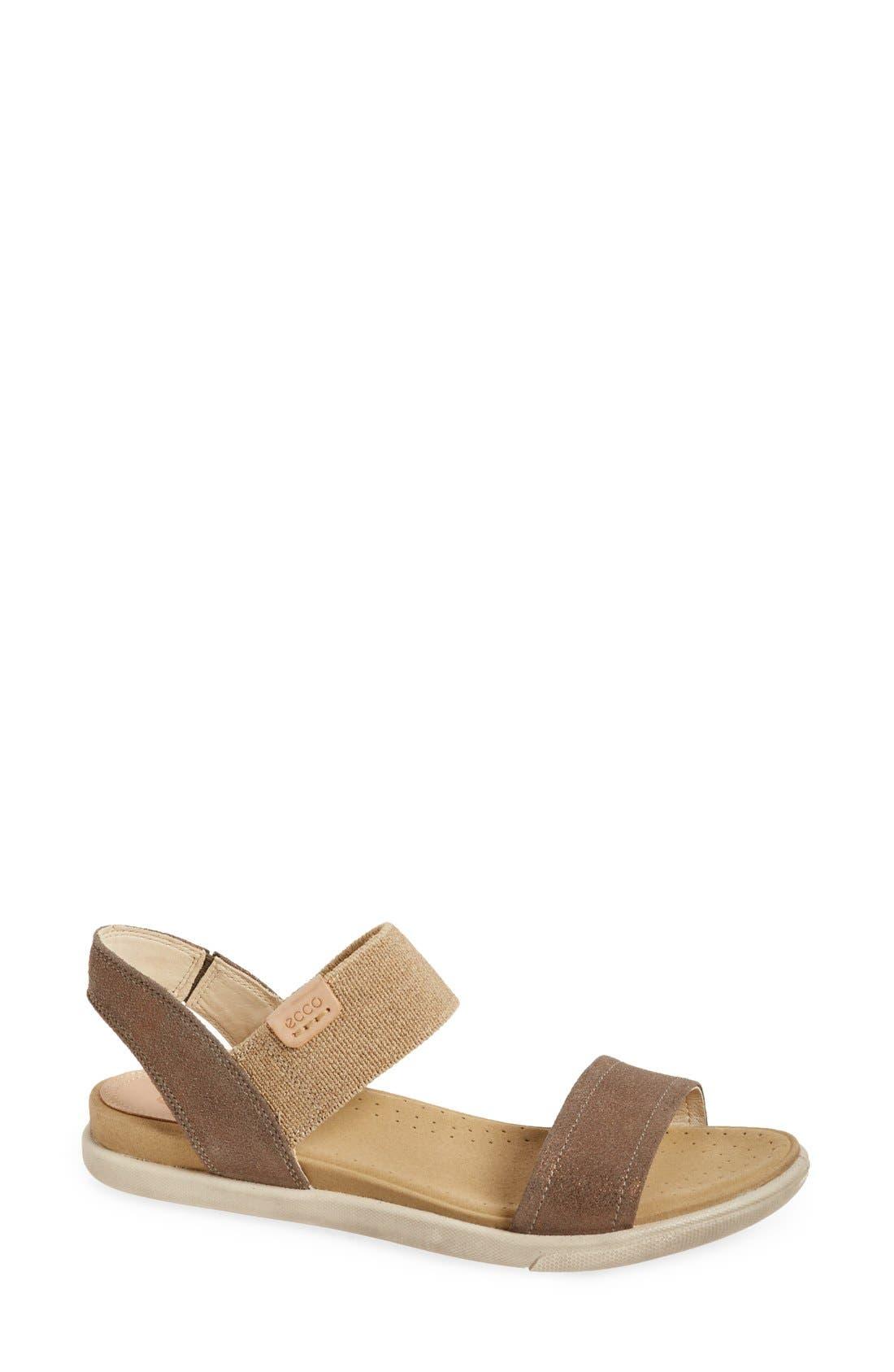'Damara' Strap Sandal,                             Main thumbnail 3, color,