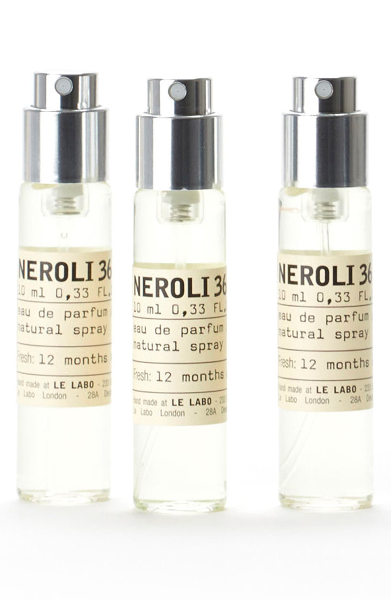 'Neroli 36' Travel Tube Refills,                             Main thumbnail 1, color,                             000
