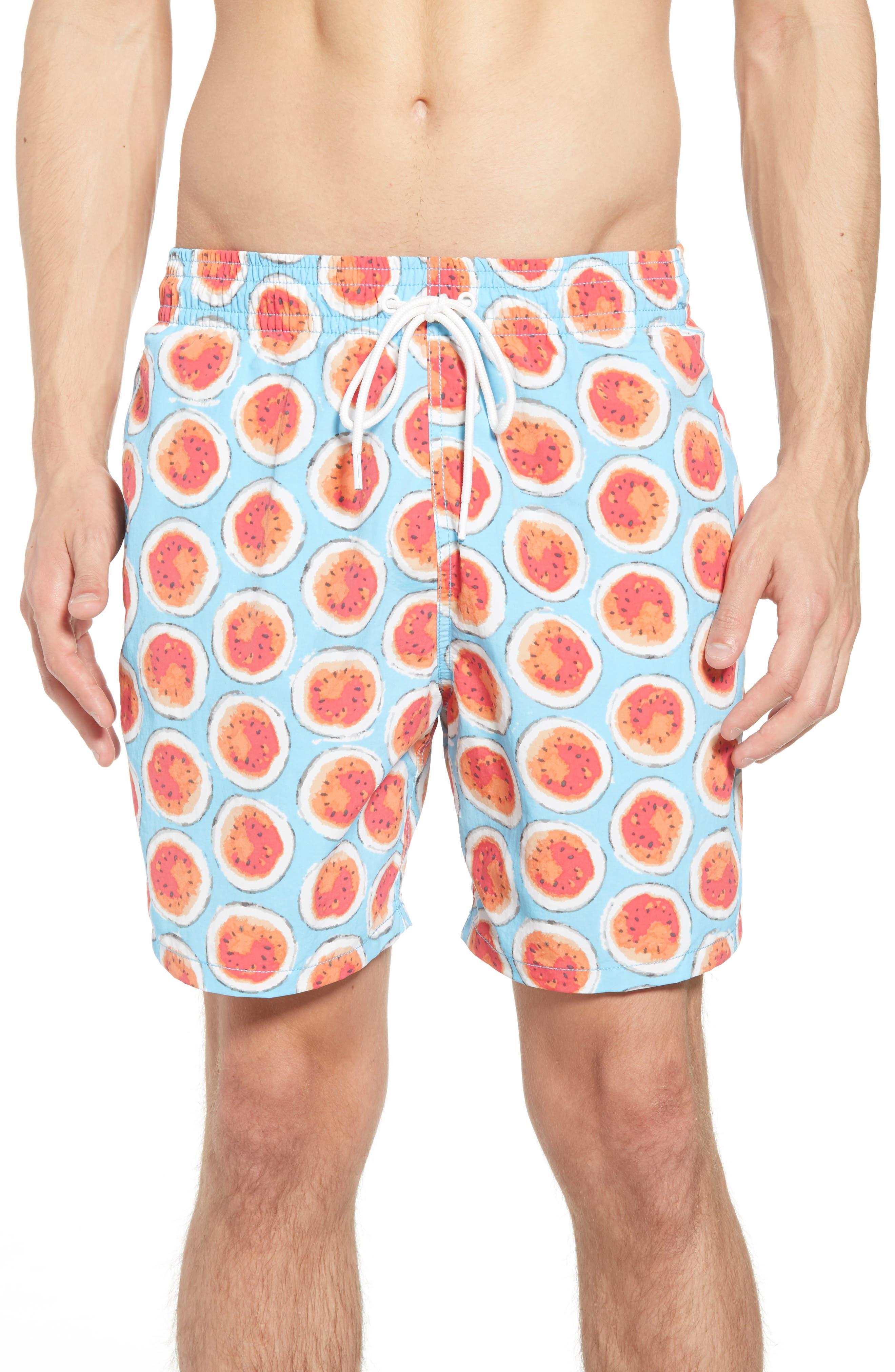 Denniston Regular Fit Swim Trunks,                         Main,                         color, 439