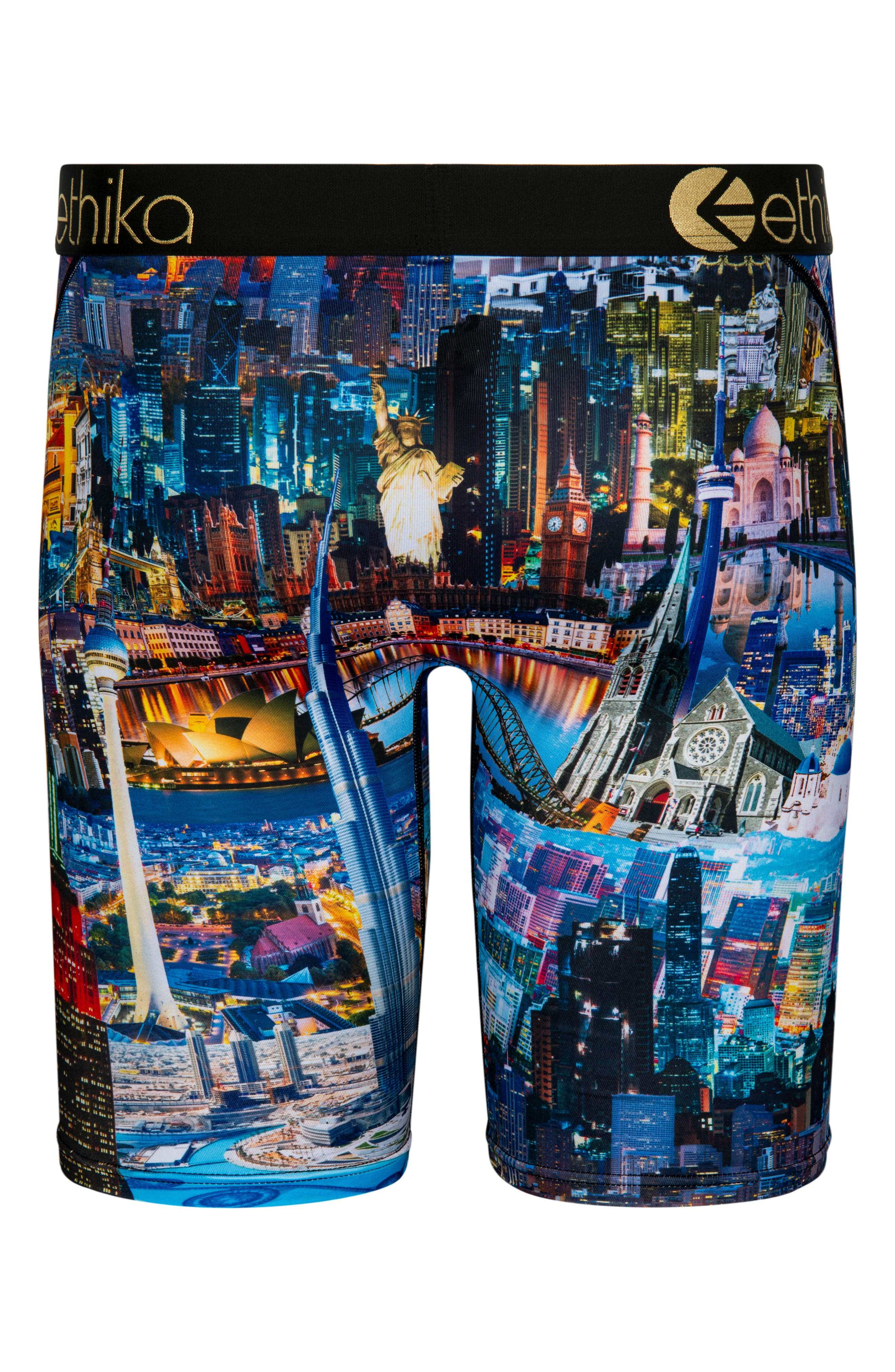 Small World Boxer Briefs,                             Alternate thumbnail 2, color,                             400