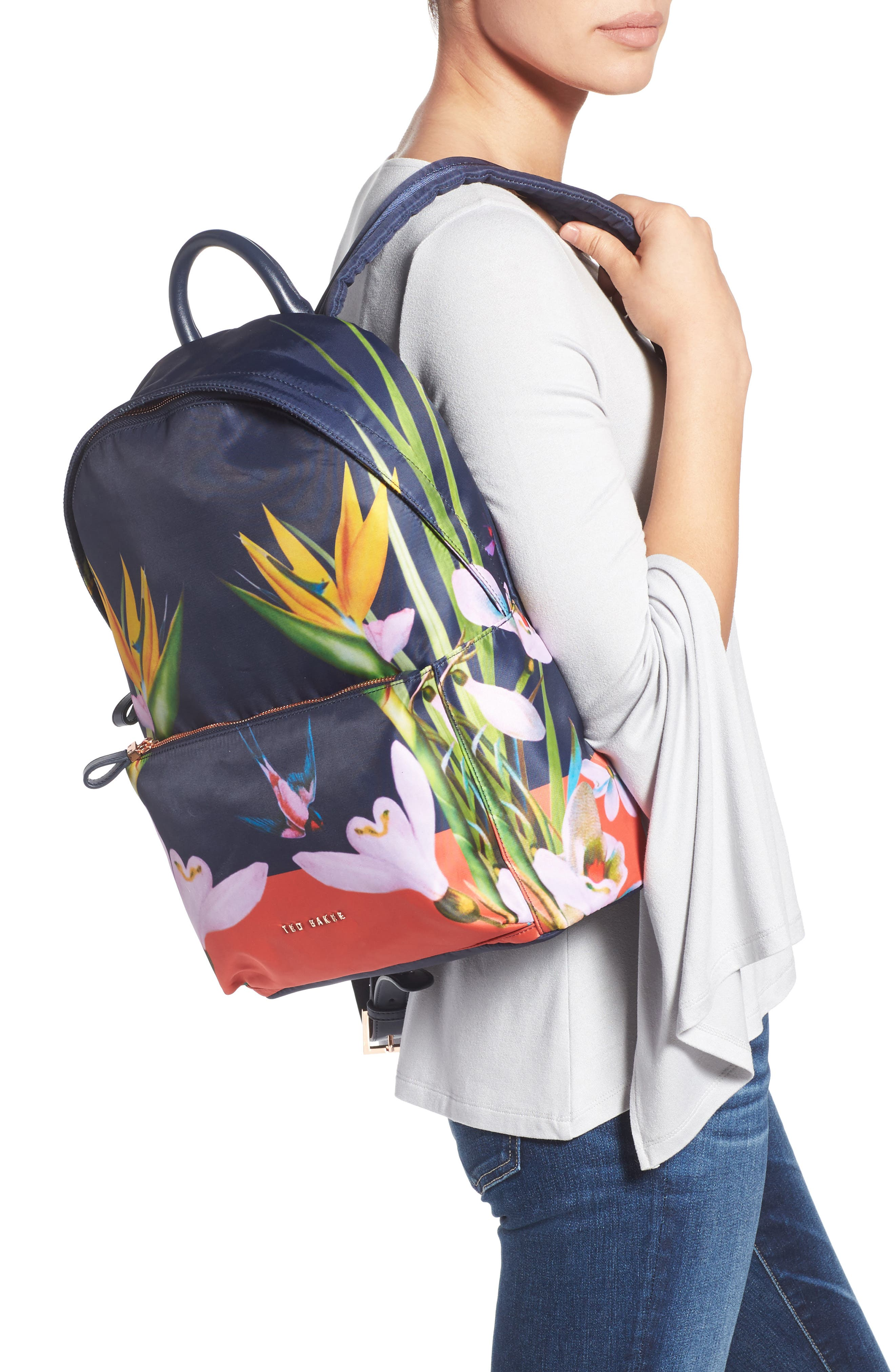 Tropical Oasis Backpack,                             Alternate thumbnail 2, color,                             410