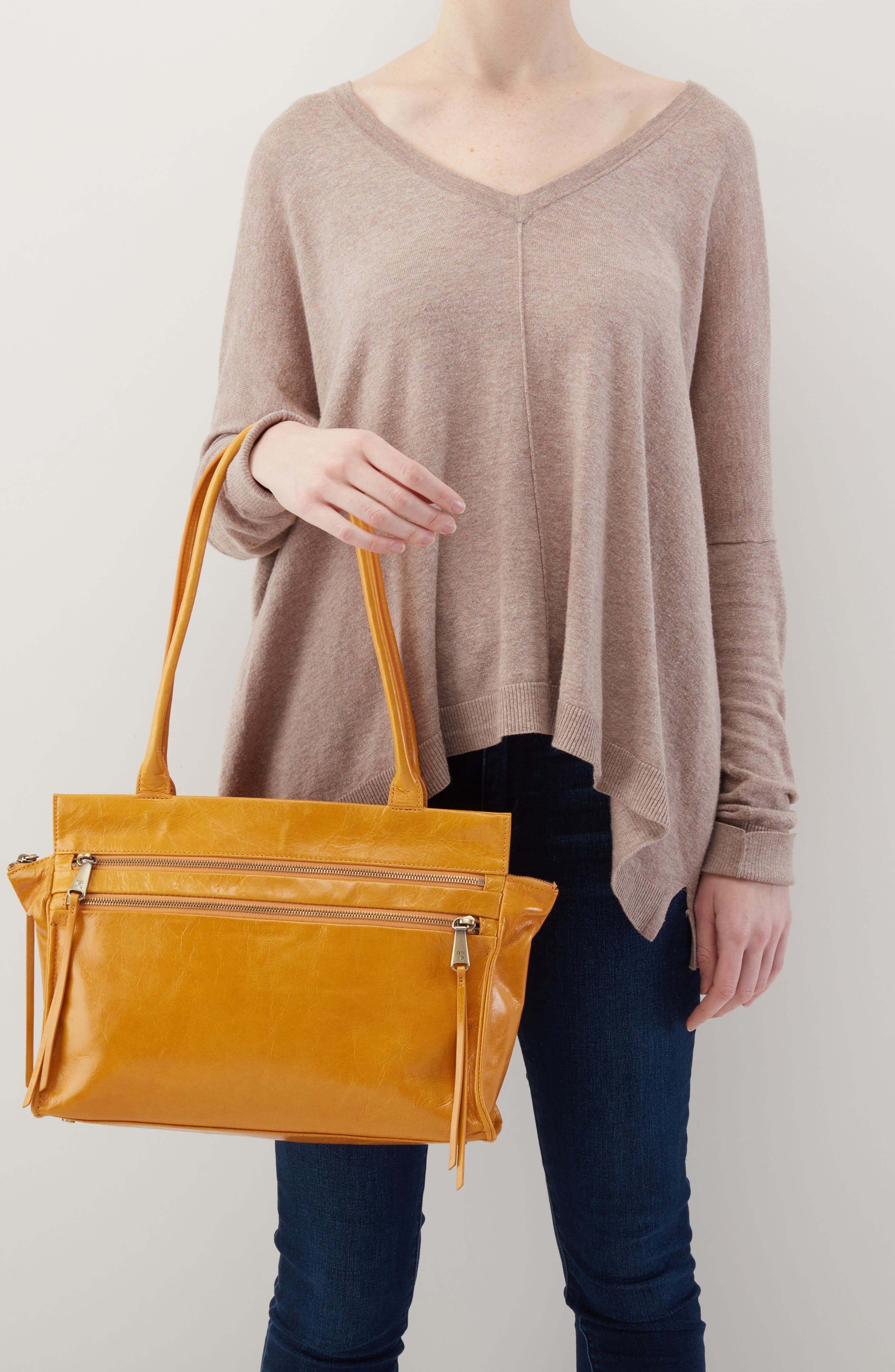 Seeker Top Handle Bag,                             Alternate thumbnail 2, color,                             AMBER