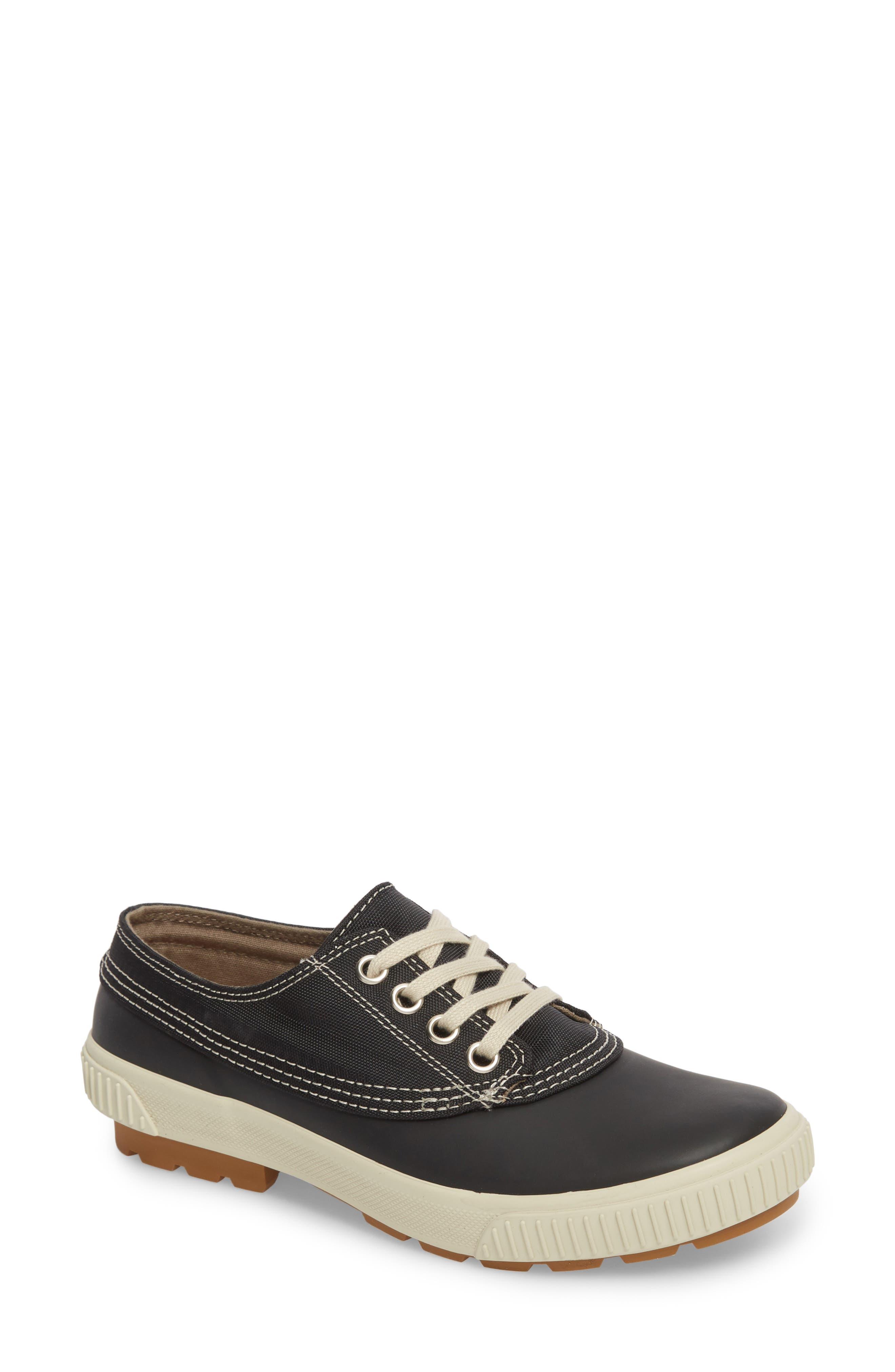 Dash Duck Sneaker,                             Main thumbnail 1, color,                             BLACK