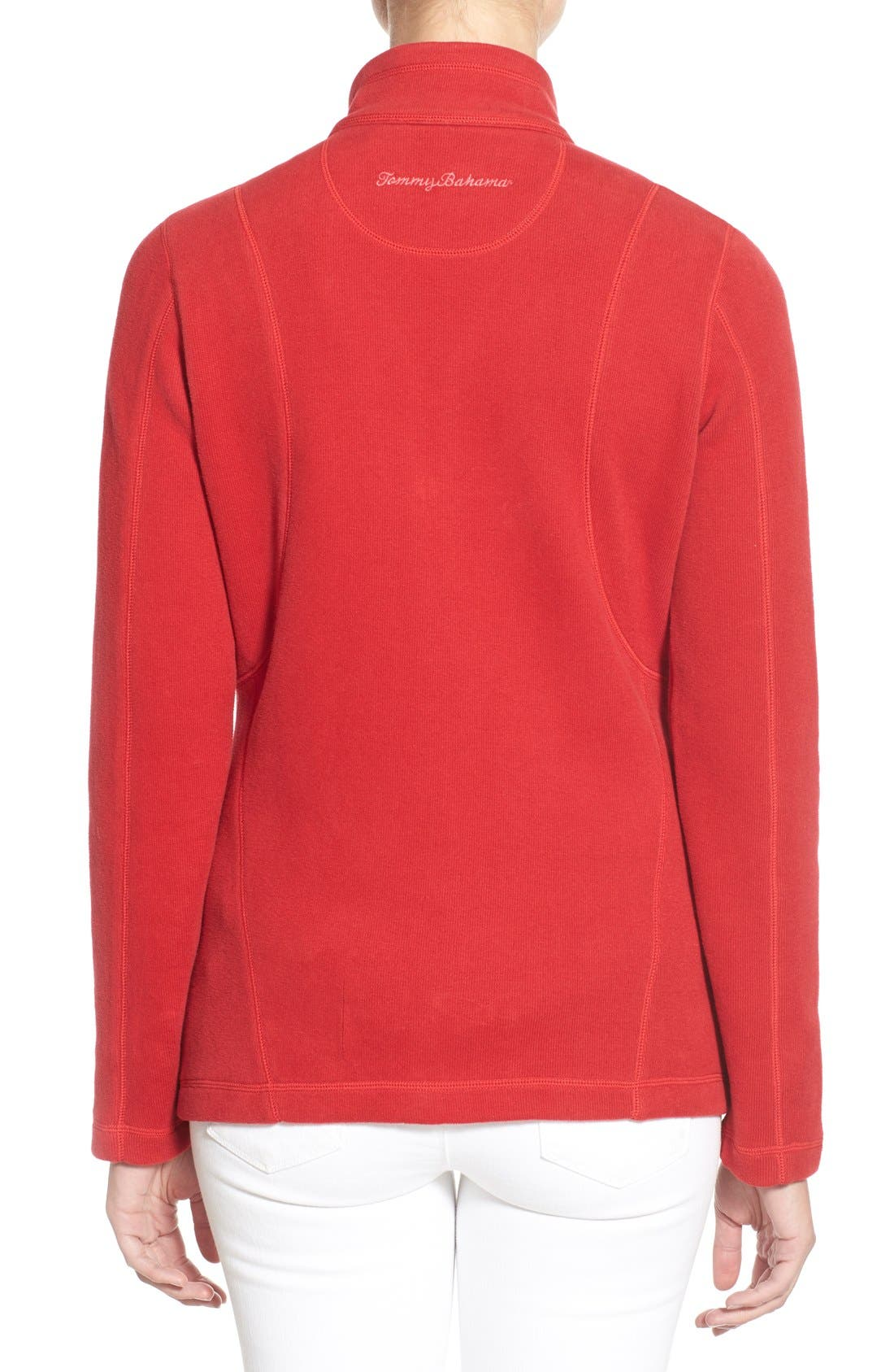 'Aruba' Full Zip Sweatshirt,                             Alternate thumbnail 21, color,