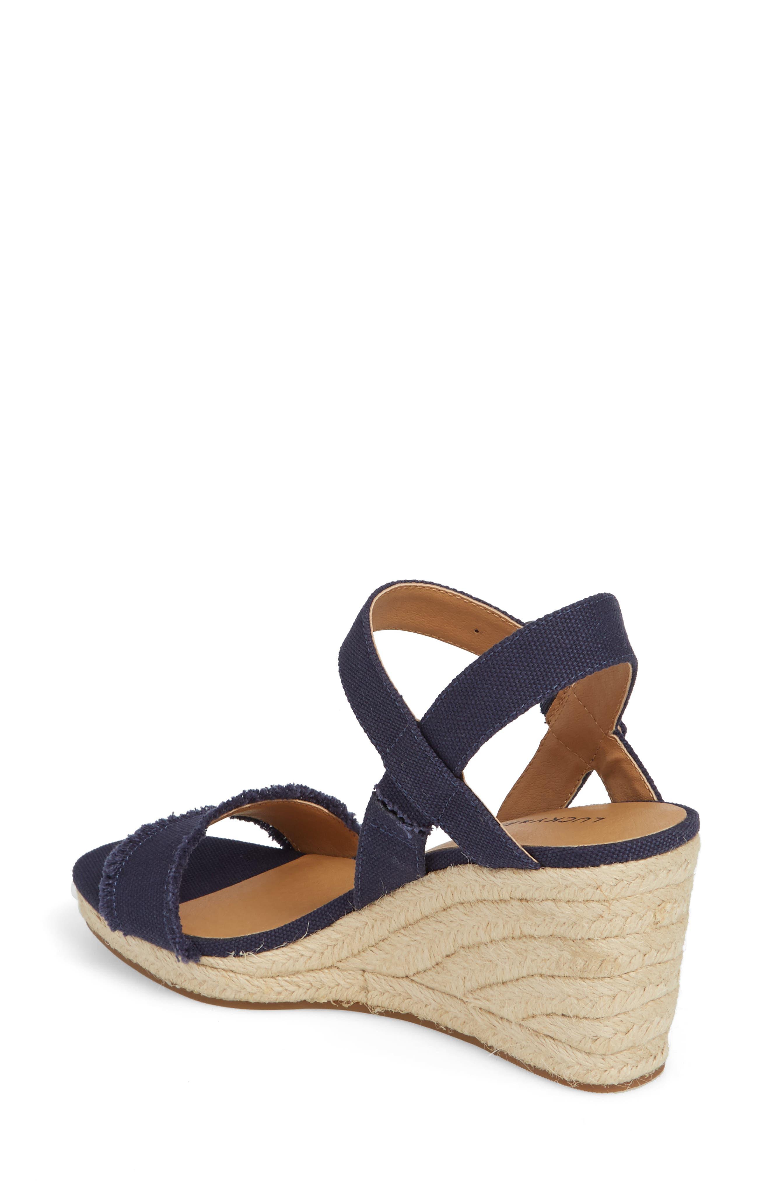 Marceline Squared Toe Wedge Sandal,                             Alternate thumbnail 11, color,