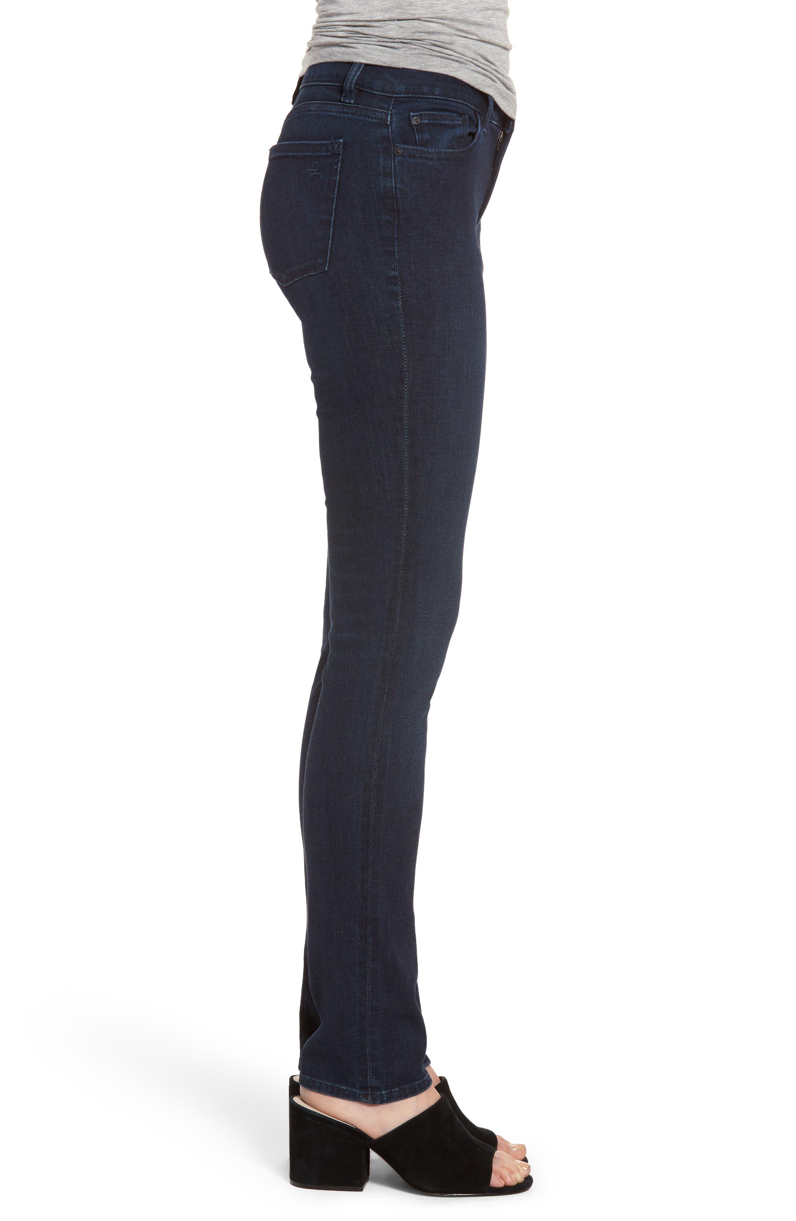 Mara Instasculpt Straight Leg Jeans,                             Alternate thumbnail 3, color,                             405