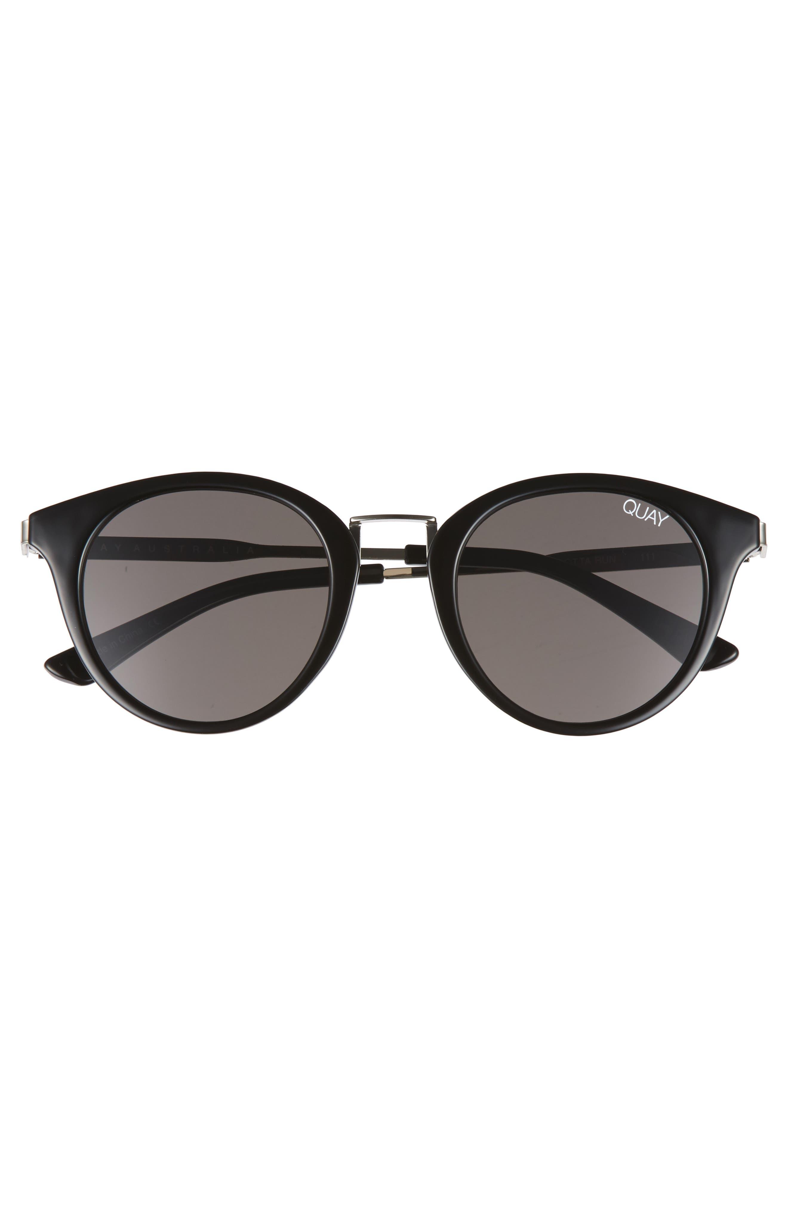 Gotta Run 48mm Sunglasses,                             Alternate thumbnail 3, color,                             001