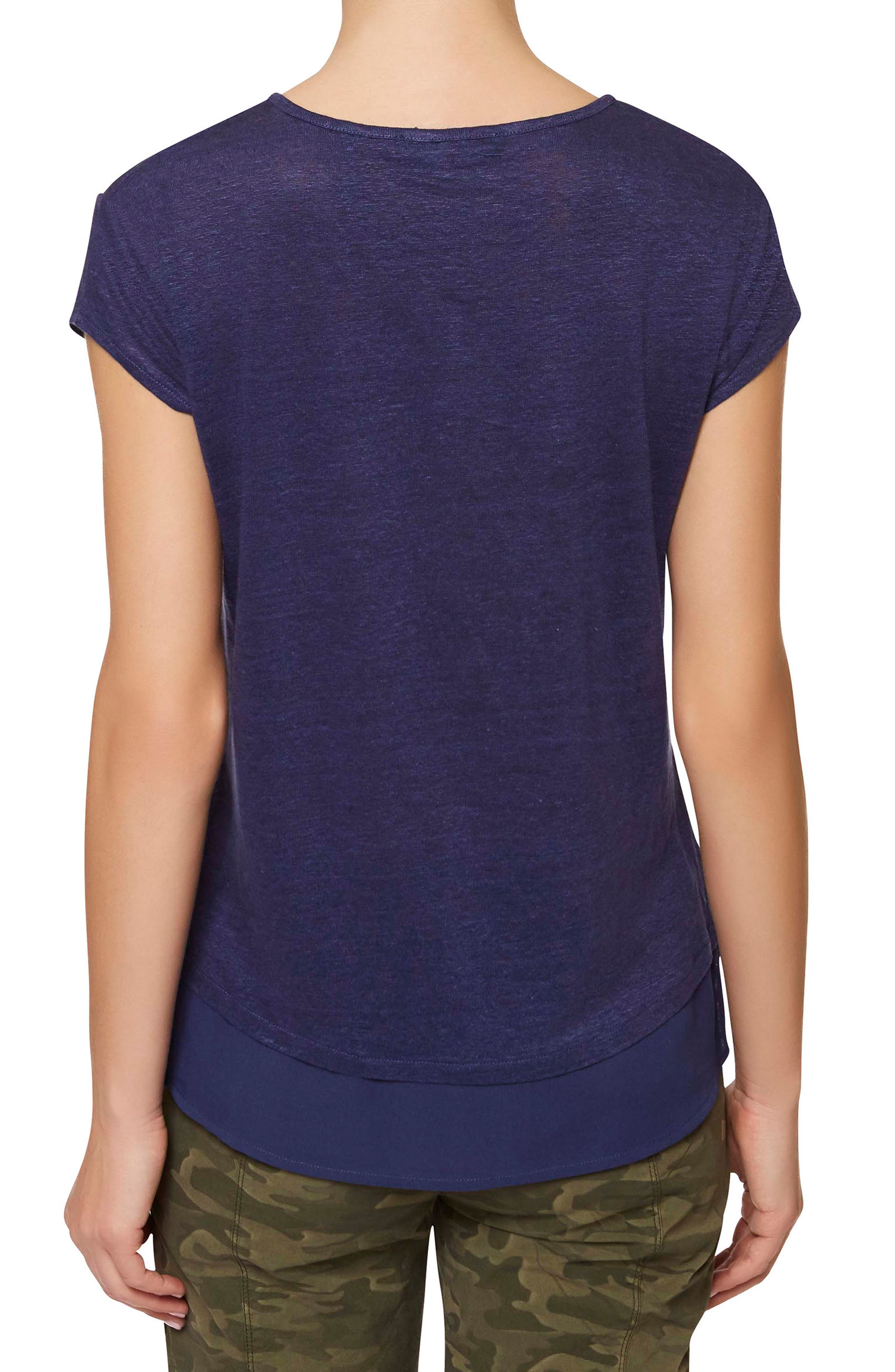 City Mix Layered Look Tee,                             Alternate thumbnail 35, color,