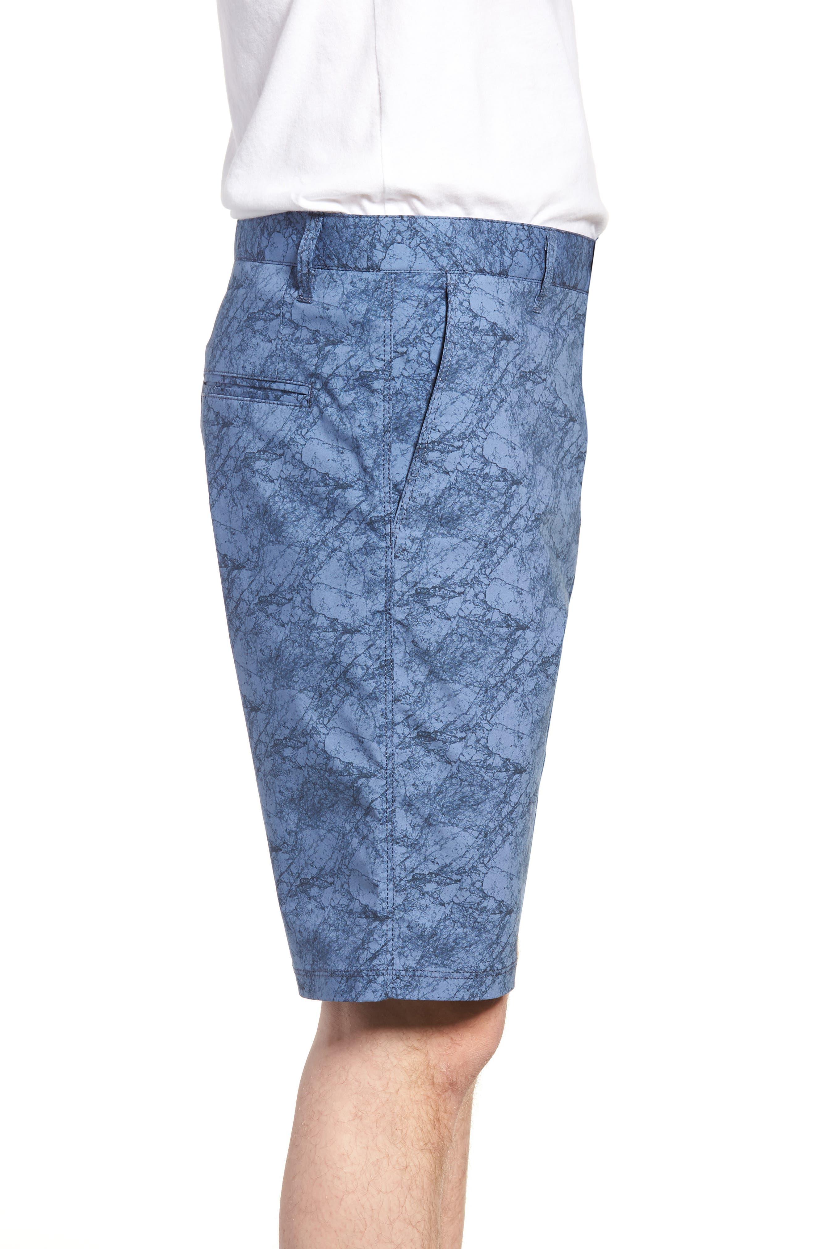 Tristen Stretch Cotton Shorts,                             Alternate thumbnail 3, color,                             400