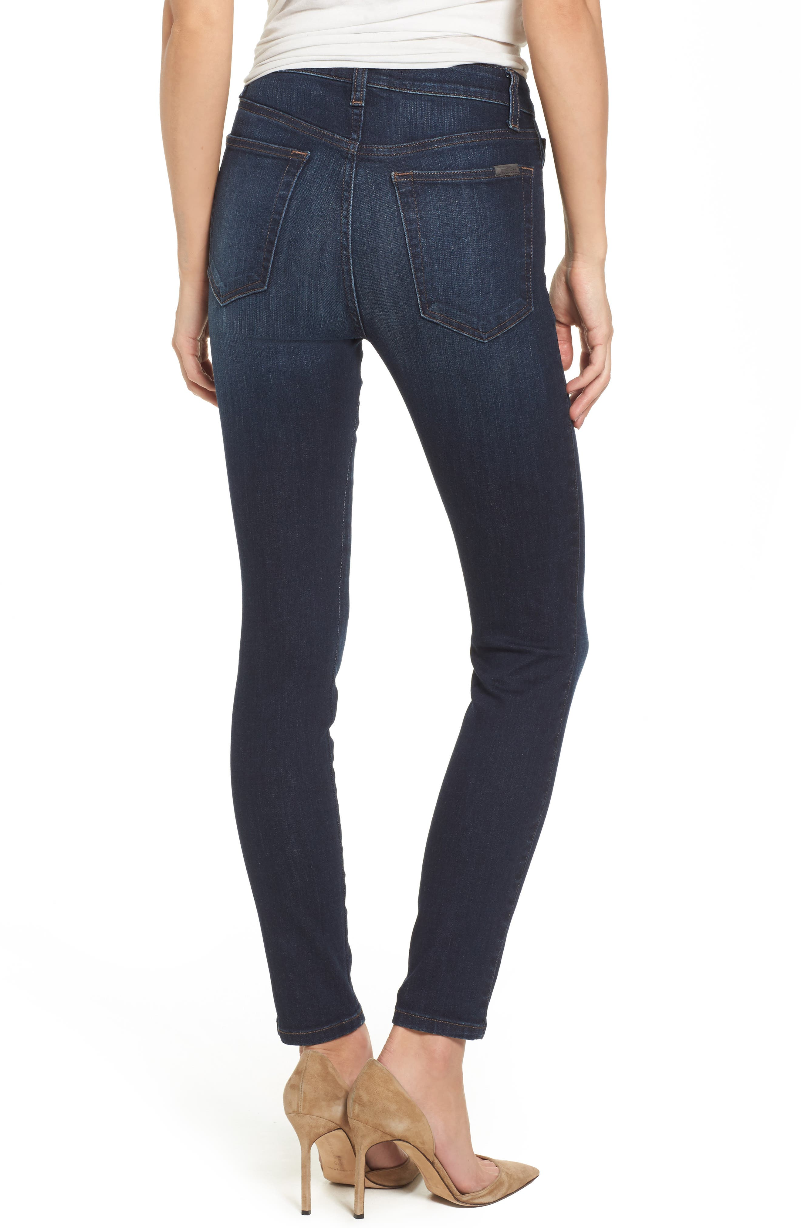 Charlie High Waist Skinny Jeans,                             Alternate thumbnail 2, color,                             405