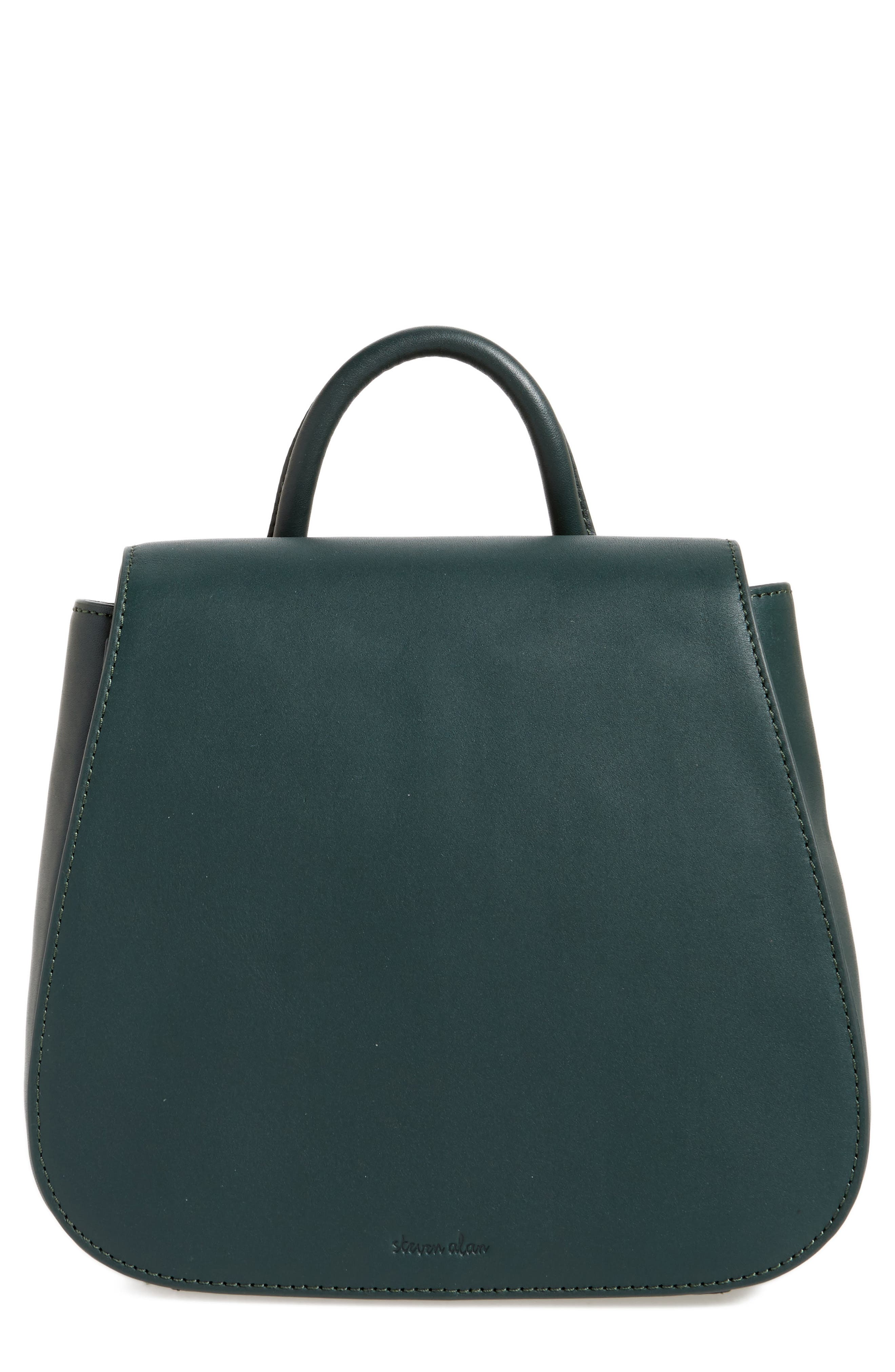 Small Kate Convertible Leather Backpack,                         Main,                         color, 300