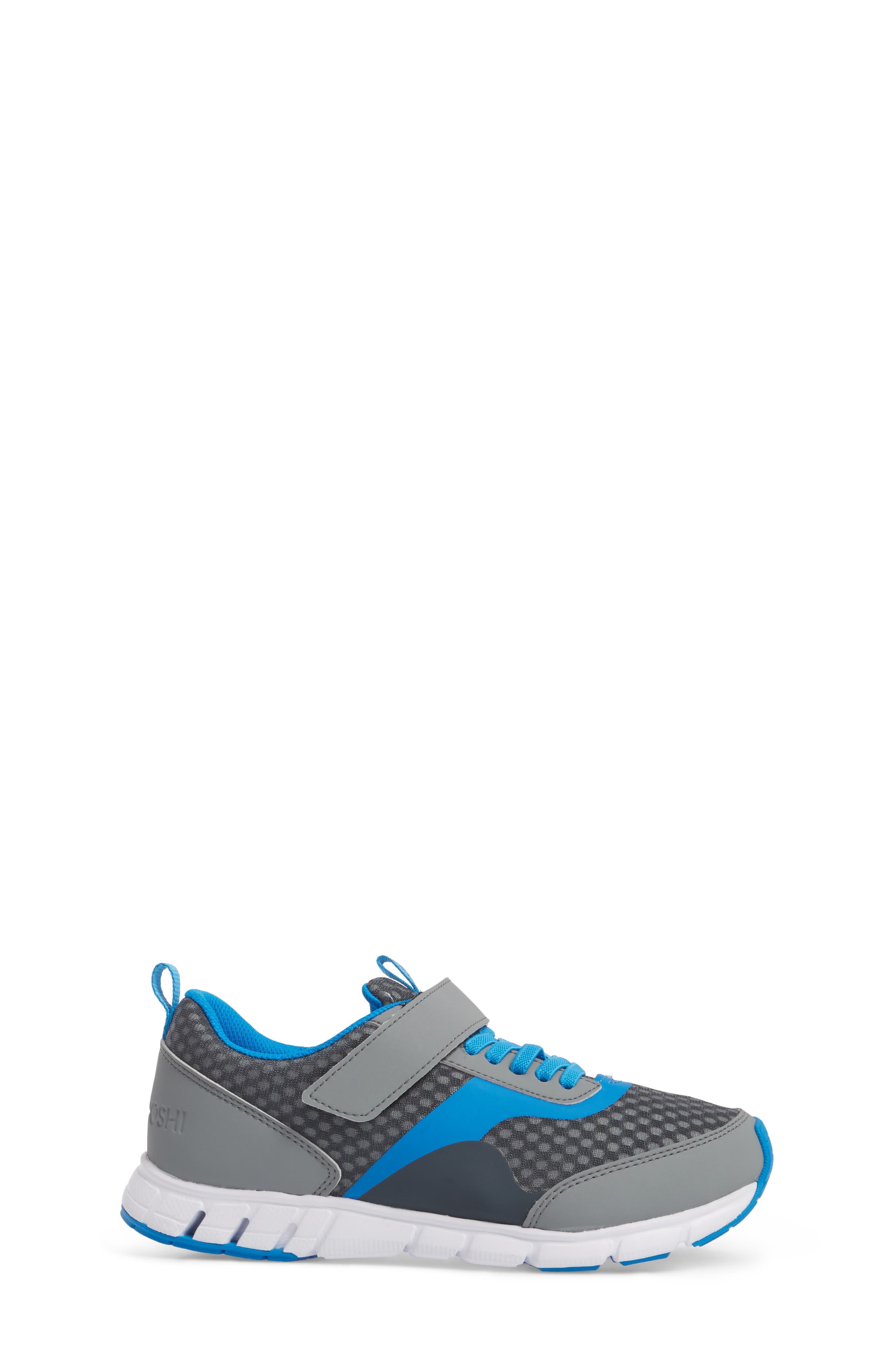 Sonic Washable Sneaker,                             Alternate thumbnail 3, color,                             GRAY/ ROYAL