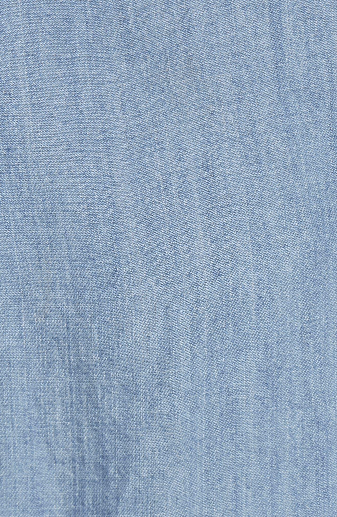 Ingrid Studded Shirt,                             Alternate thumbnail 5, color,                             493
